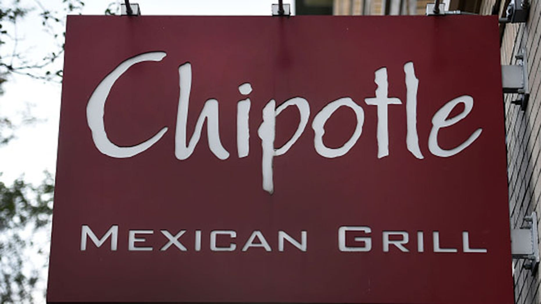 PORTLAND, OR - NOVEMBER 03:  A general view of a Chipotle Mexican Grill store sign outside a location in downtown Portland on November 3, 2015 in Portland, Oregon. Chipotle Mexican Grill is temporarily closing more than 40 restaurants in and around Washignton and Oregon, as health officials investigate an E. coli outbreak that has gotten at least 22 people sick. (Photo by Steve Dykes/Getty Images)