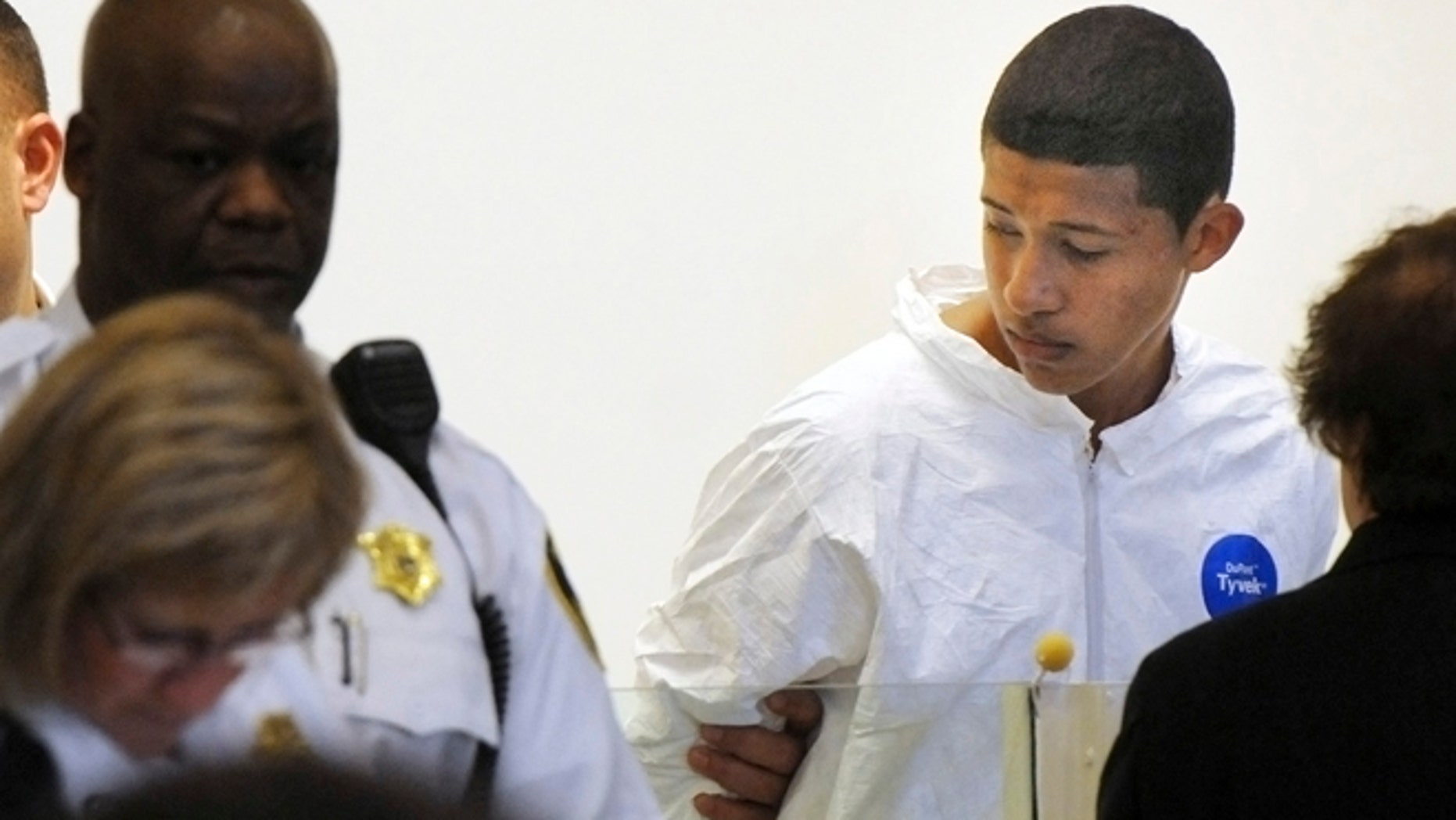 """FILE: According to the petition to have Philip Chism committed to Worcester Recovery Center and Hospital for 30 days of evaluation and treatment, the 15-year-old was """"out of touch with reality"""" and """"yelling, screaming incoherently (and) foaming at the mouth while being restrained by staff."""""""