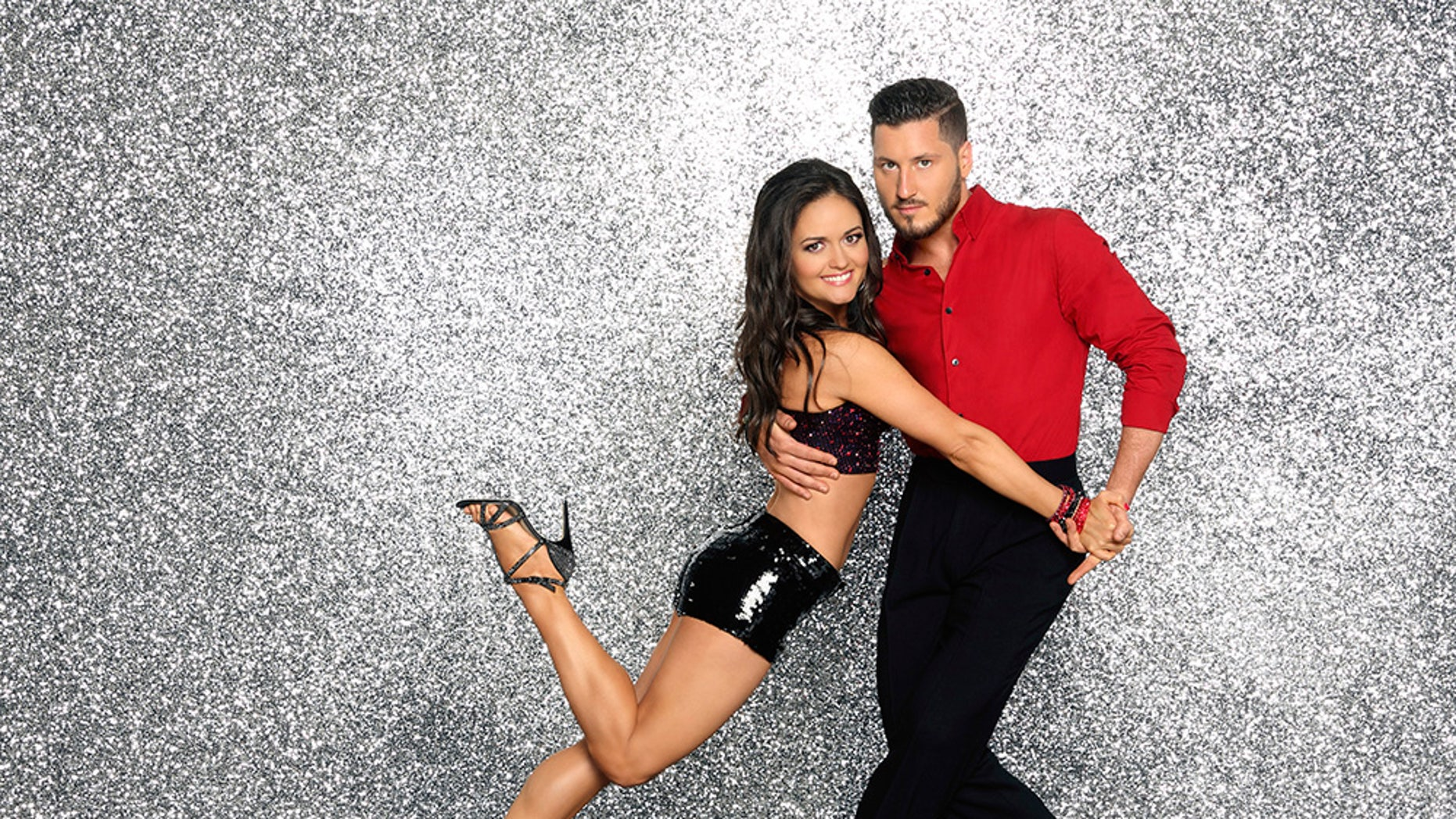 "Danica McKellar partners with Valentin Chmerkovskiy on ""Dancing with the Stars."""