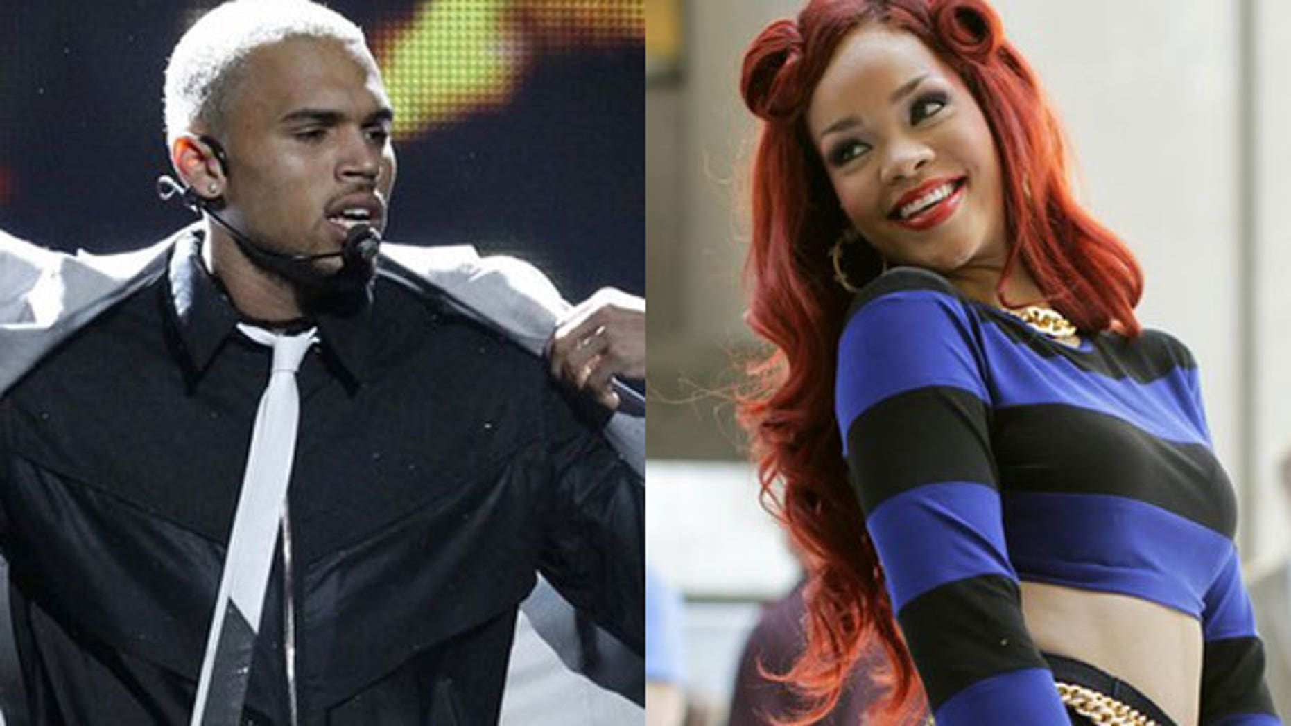 Chris Brown and Rihanna (Reuters)