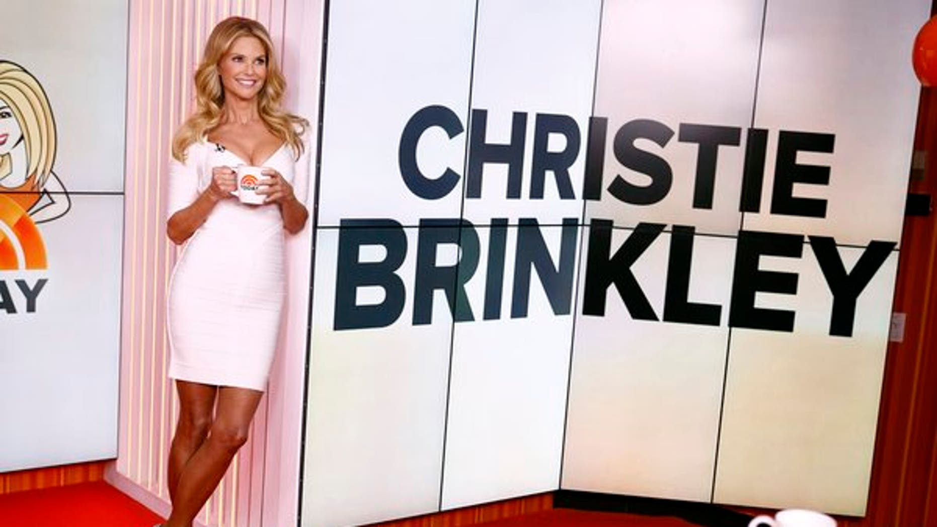 "Christie Brinkley appears on the ""Today"" show."