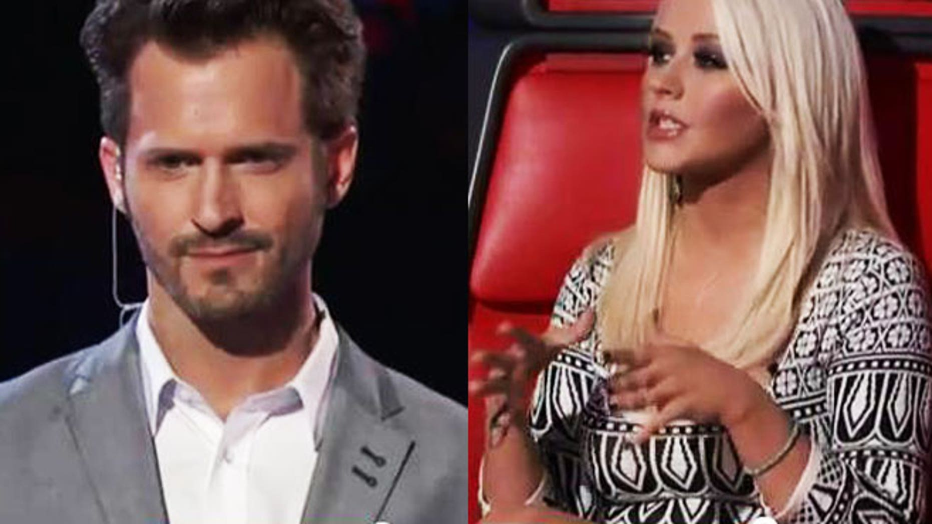 Was Tony Lucca raked over the coals by his former Mouseketeer buddy, Christina Aguilera?