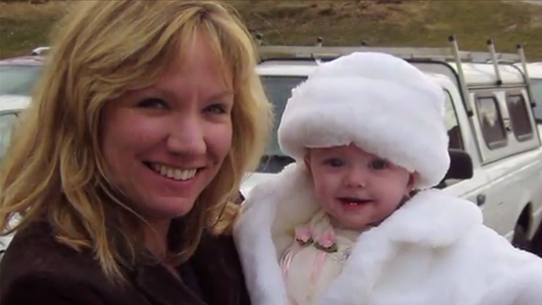 Dr. Christine Finck and the Isabelle, the baby she adopted nearly 13 years ago.