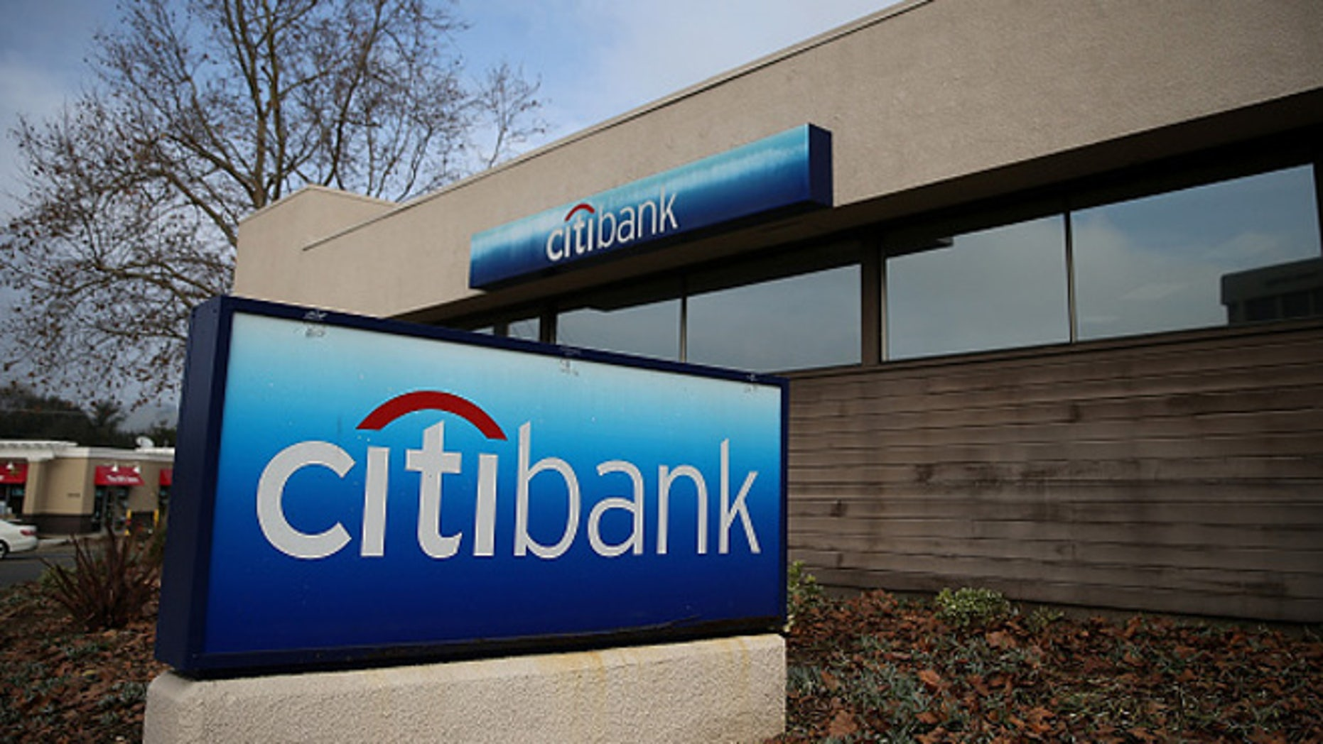 SAN RAFAEL, CA - JANUARY 15:  A sign stands in front of a Citibank branch office on January 15, 2015 in San Rafael, California.  Citigroup Inc reported an 86 percent decline in fourth quarter earnings with net profits of $346 million, or 6 cents per share, compared to $2.60 billion, or 82 cents per share, one year ago.  (Photo by Justin Sullivan/Getty Images)