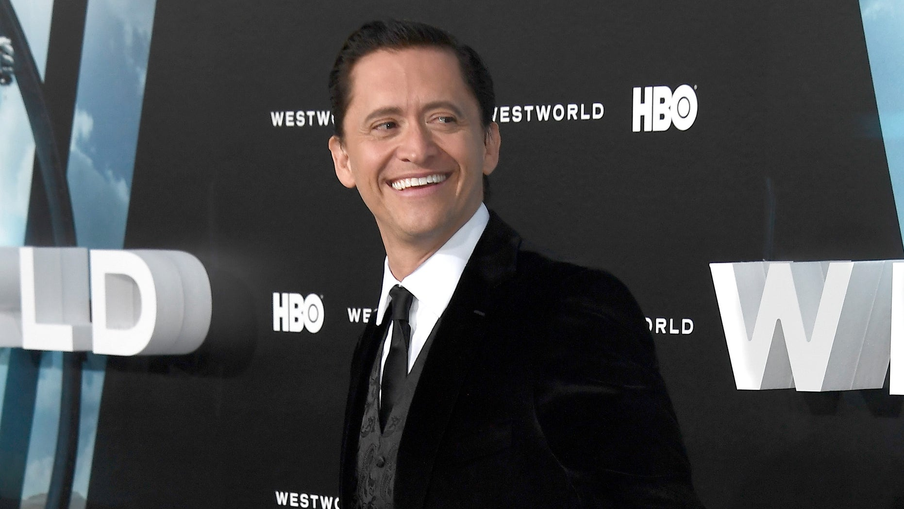"""HOLLYWOOD, CA - SEPTEMBER 28:  Actor Clifton Collins Jr. attends the premiere of HBO's """"Westworld"""" at TCL Chinese Theatre on September 28, 2016 in Hollywood, California.  (Photo by Frazer Harrison/Getty Images)"""