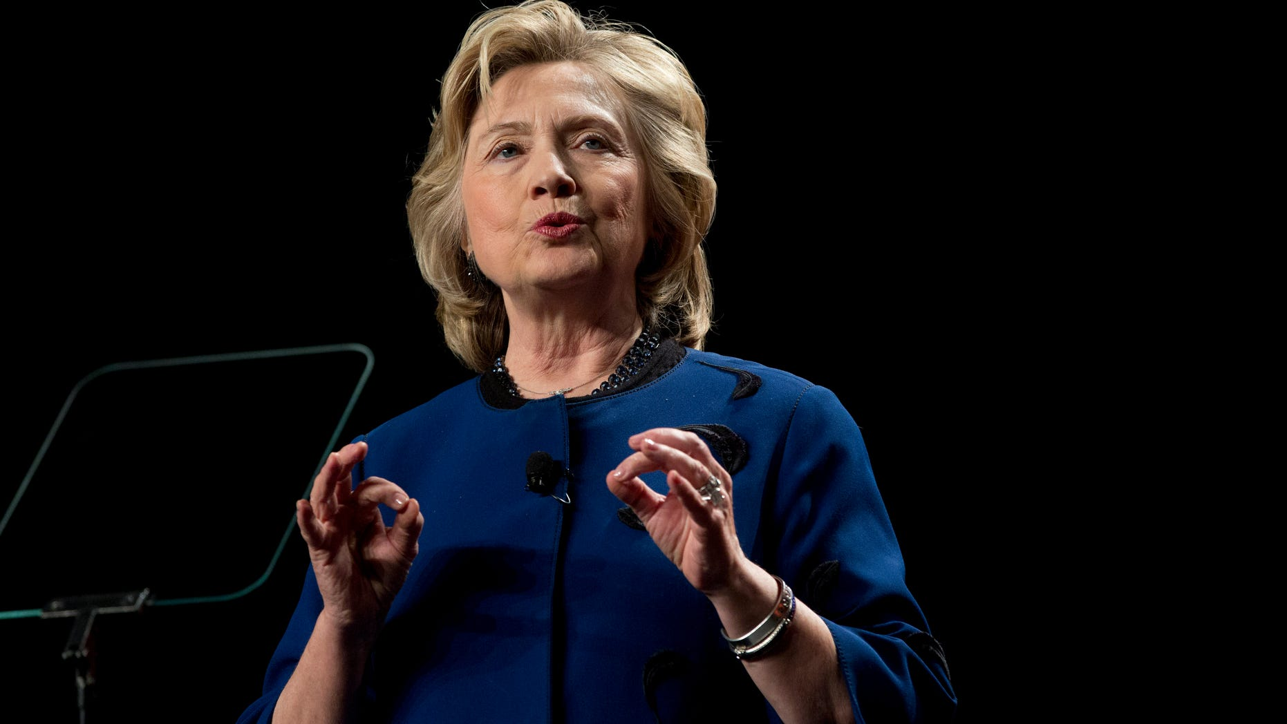 Feb. 26, 2014 Former secretary of state Hillary Clinton speaks at UM in Coral Gables, Fla.
