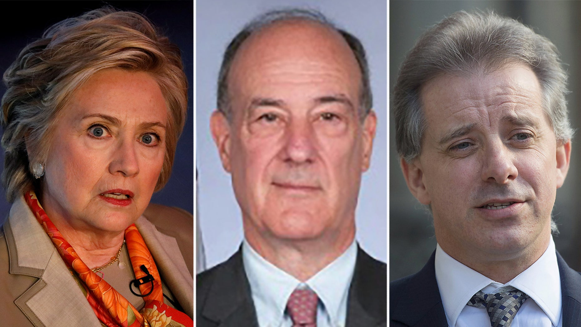 Jonathan Winer, center, passed information from a Clinton contact to ex-British spy Christopher Steele.