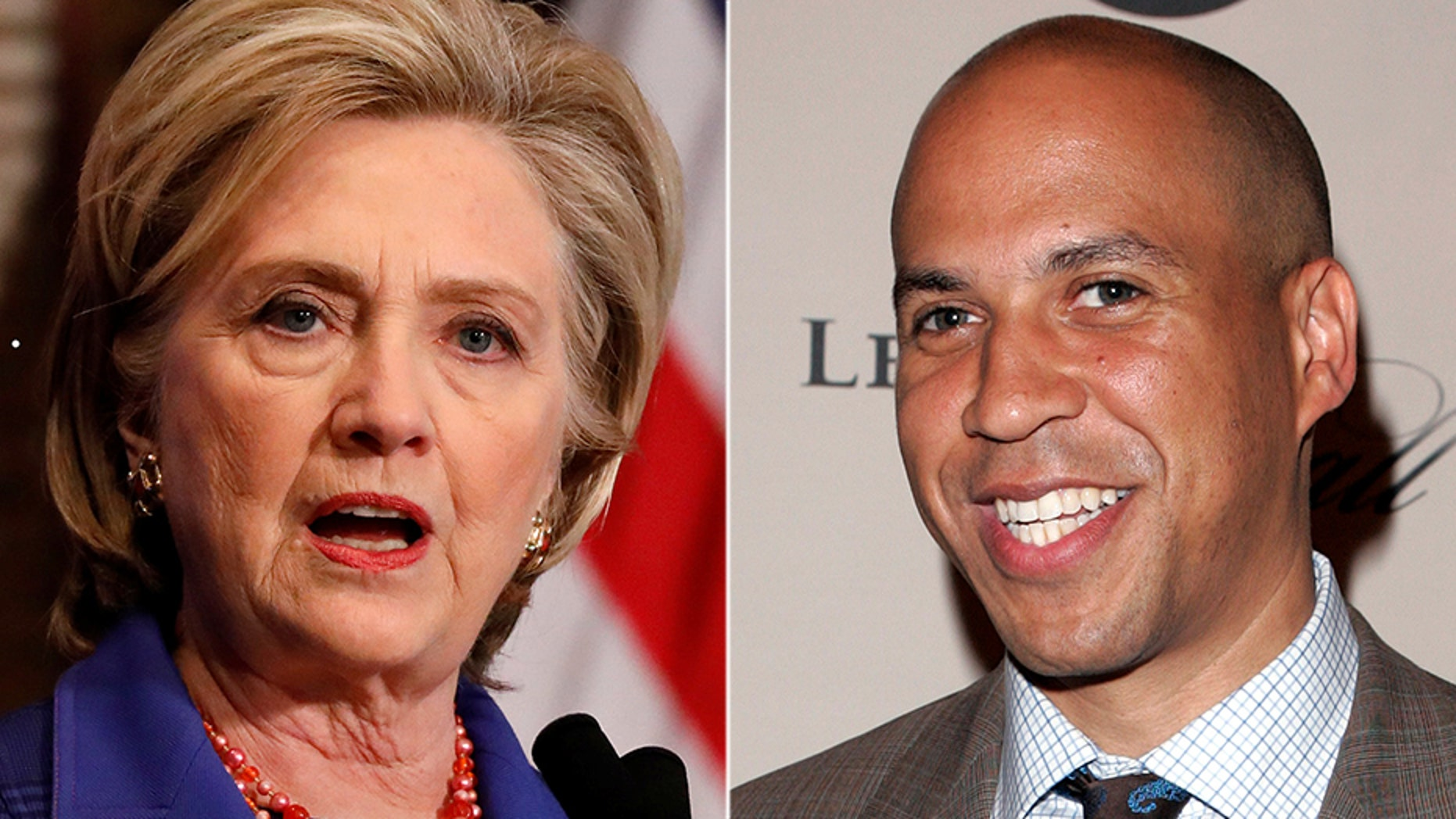 """Sen. Cory Booker didn't want to discuss Hillary Clinton's recent controversial comments during Monday's appearance on """"The View."""""""