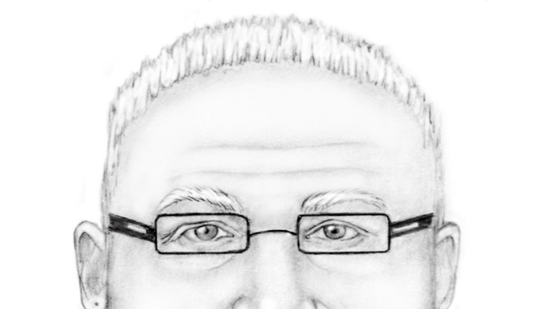 Oct. 13, 2012 - FBI image shows composite drawing of a man suspected of kidnapping a girl in Wyoming.