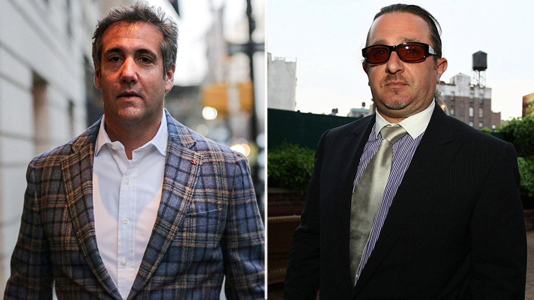 New York City taxi magnate Evgeny Freidman (right), a longtime business partner of President Donald Trump's personal lawyer, Michael Cohen (left), has pleaded guilty to tax fraud in a deal that requires him to cooperate in any ongoing investigations. (REUTERS/Getty)