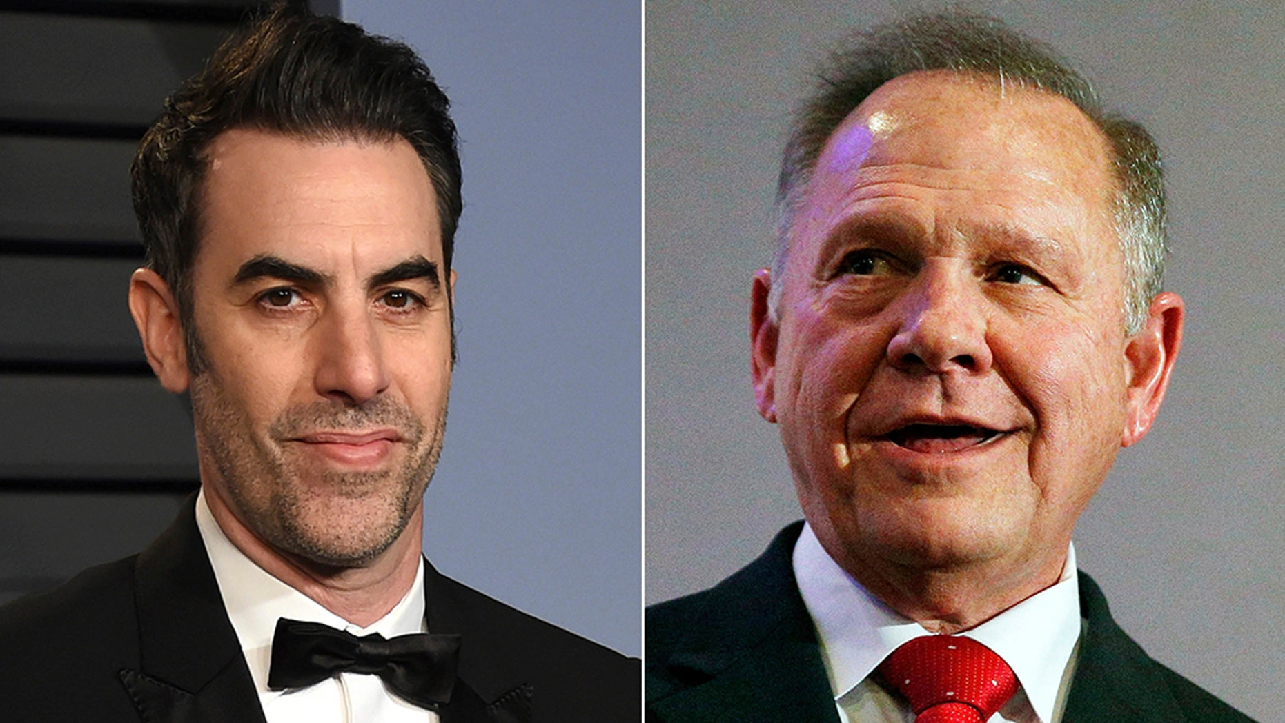 "Roy Moore is suing Sacha Baron Cohen over a controversial interview the comedian did with the judge on the ""Who is America?"" television show."
