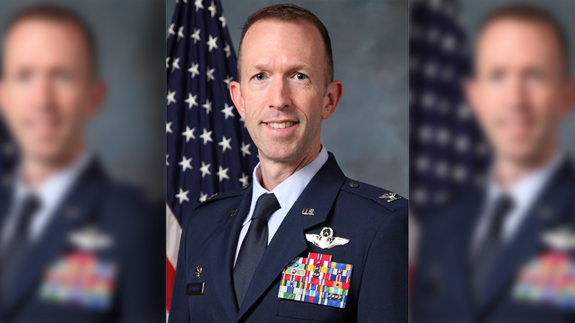 The Air Force has reversed its decision to punish Col. Leland Bohannon, seen here, after he refused to publicly affirm the same-sex spouse of a retiring subordinate.