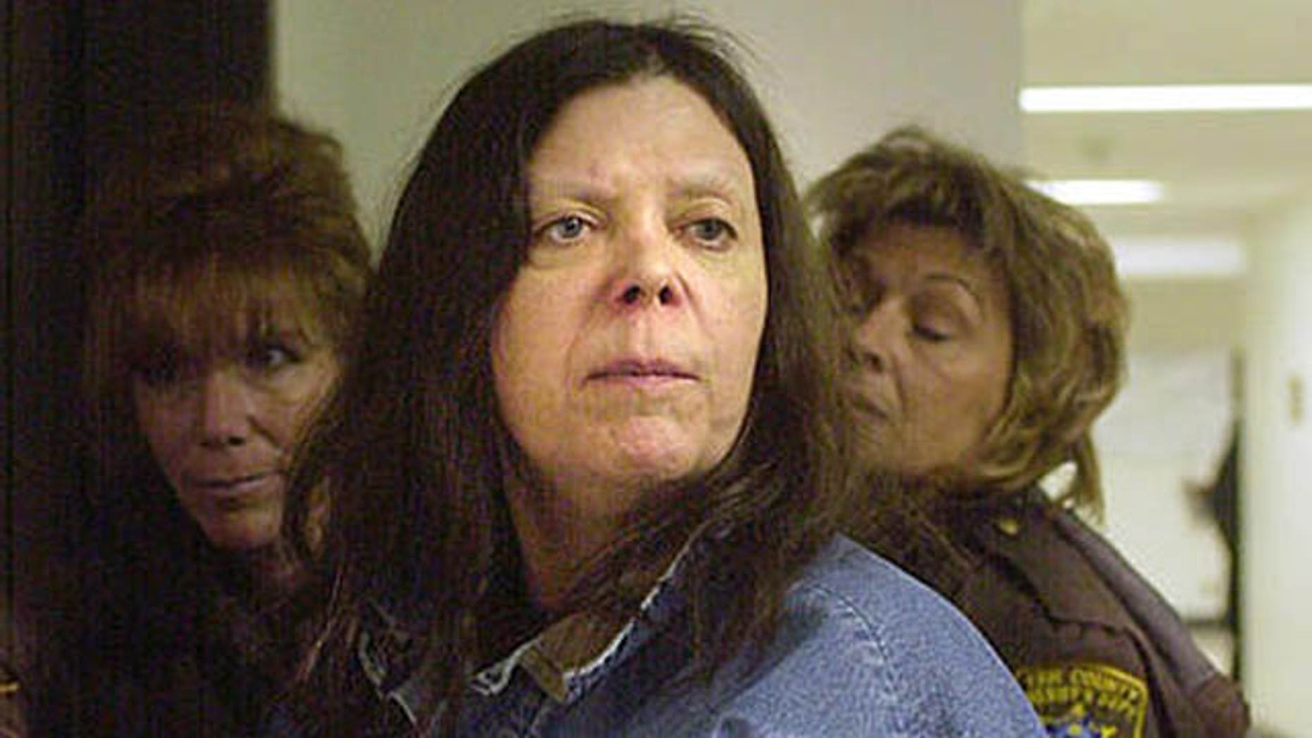 Jan. 20, 2004:Marjorie Diehl-Armstrong is seen before a hearing at the Erie County Courthouse in Erie, Pa.