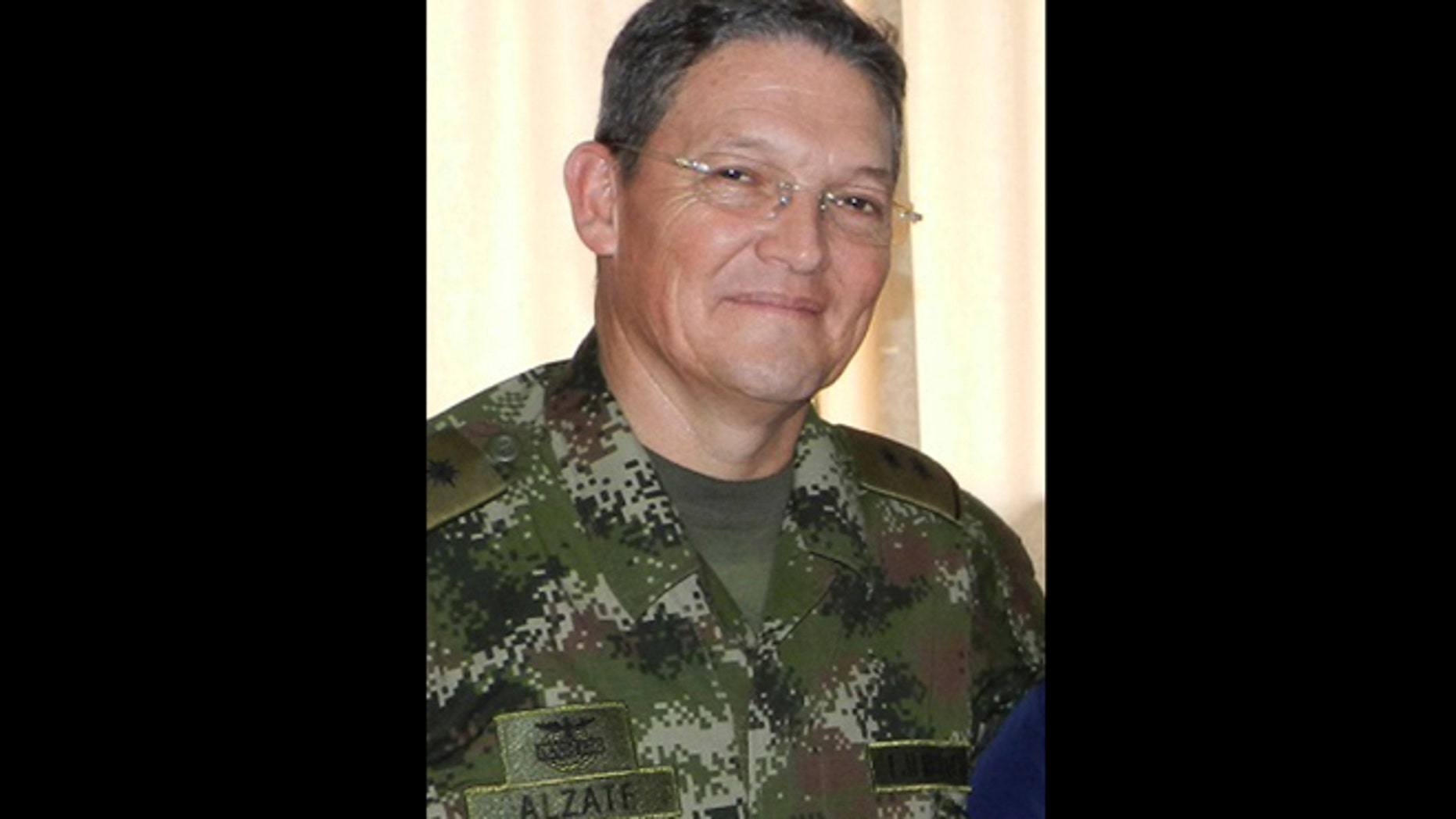 Colombian Army Gen. Ruben Dario Alzate.
