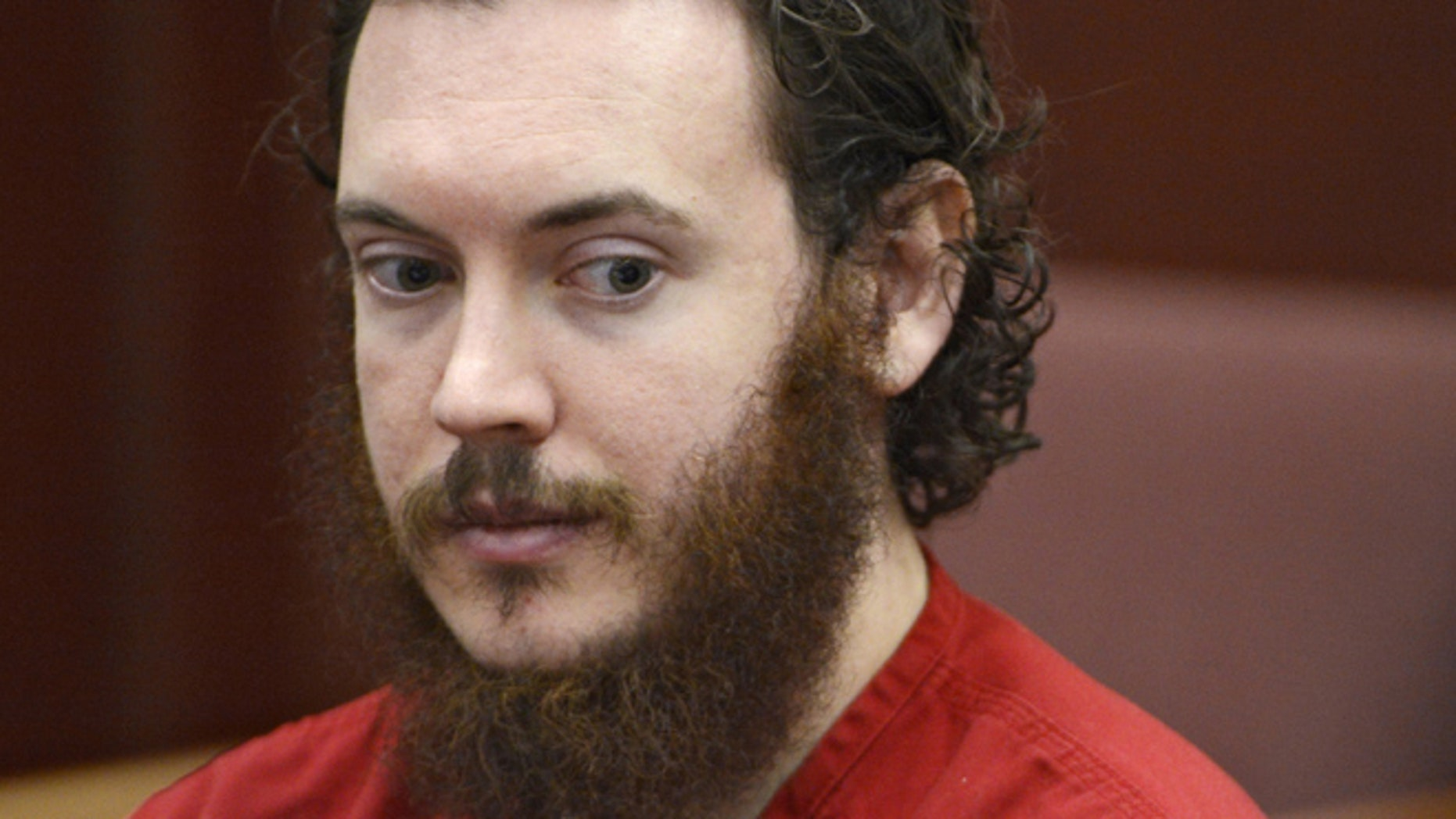 June 4, 2013: In this file photo, Aurora theater shooting suspect James Holmes appears in court in Centennial, Colo.
