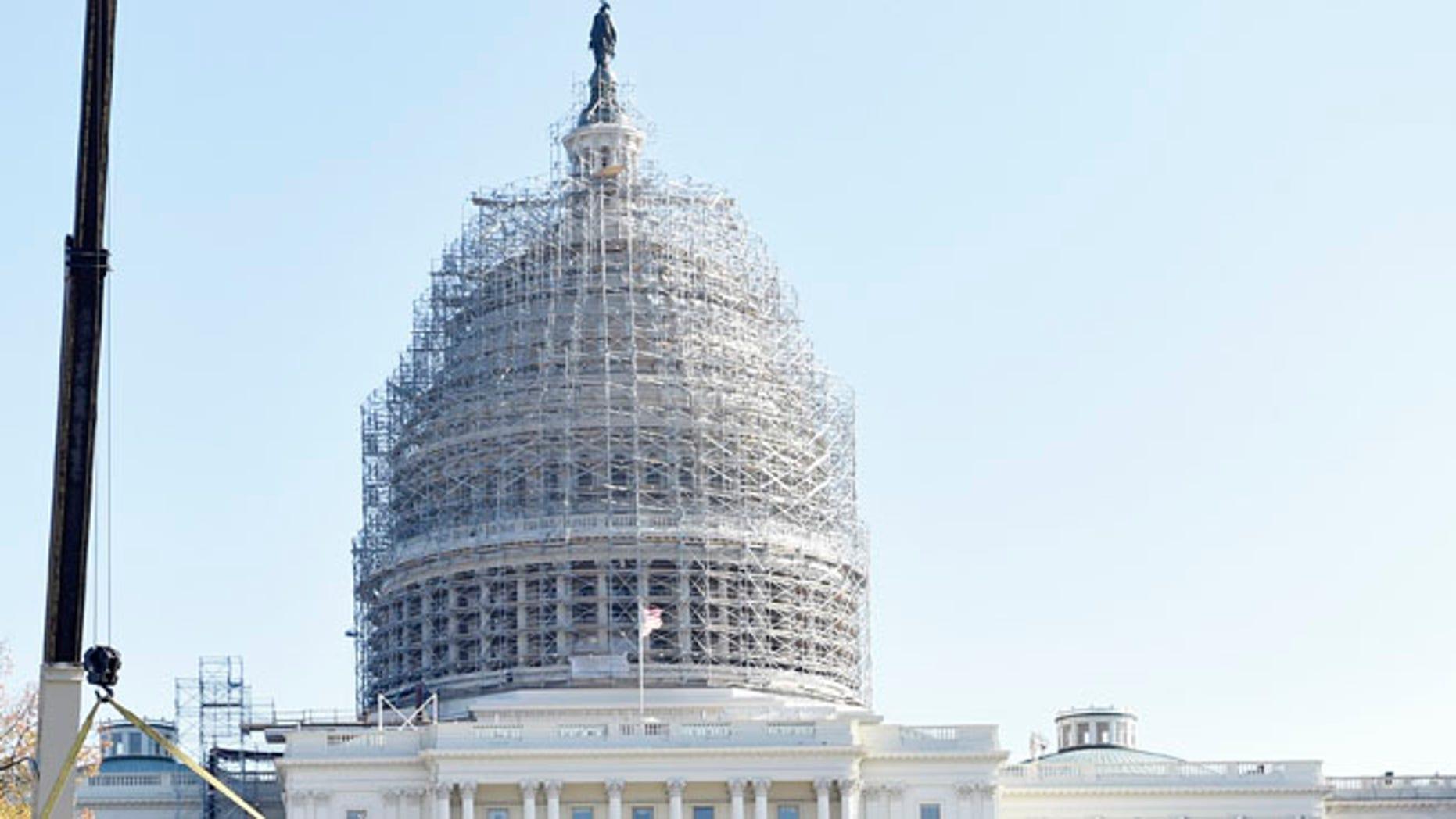 FILE: Nov. 21, 2014:  U.S. Capitol, in Washington, D.C.
