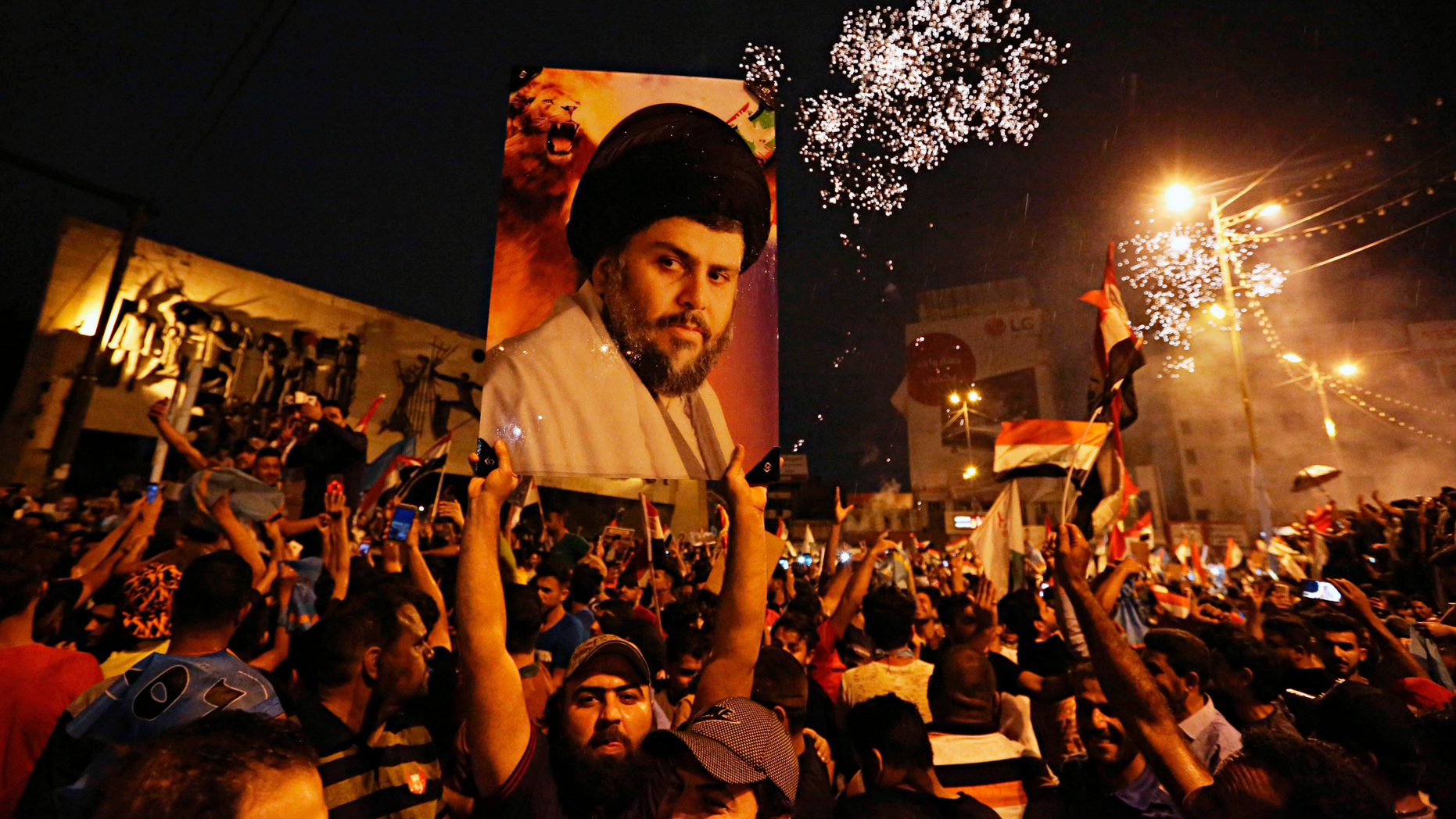 """Shiite cleric Muqtada al-Sadr, whose coalition won the largest number of seats in Iraq's parliamentary elections, says the next government will be """"inclusive."""""""