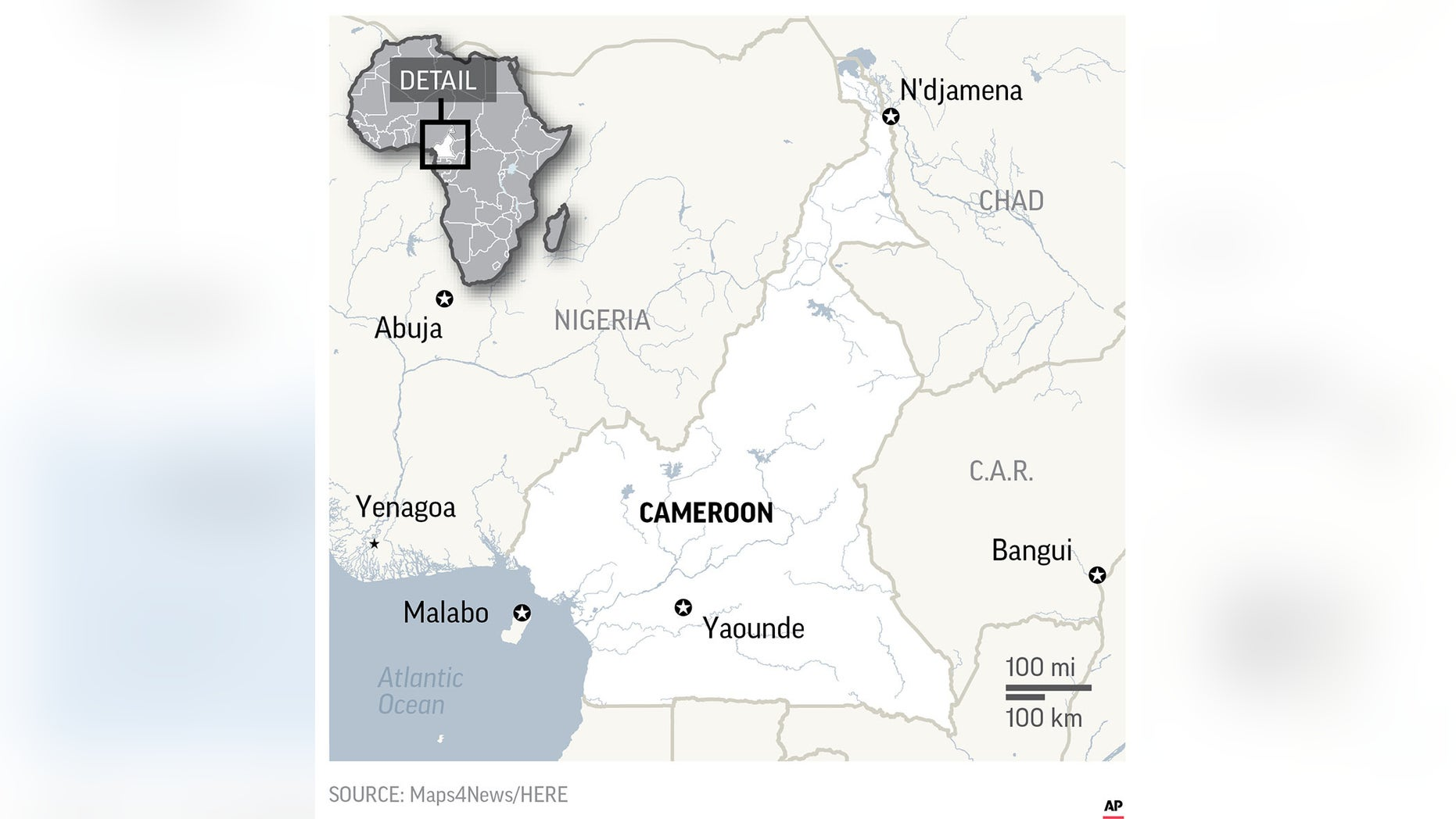 Cameroon lurches toward election amid separatist conflict | Fox News