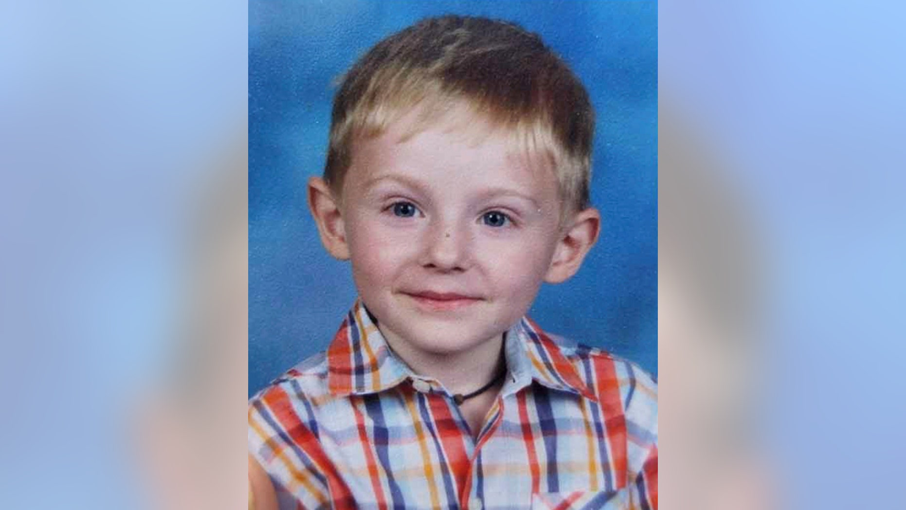 This photo provided by the FBI shows Maddox Ritch. Gastonia Police Chief Robert Helton announced Thursday, Sept. 27, 2018 that officials believed the body searchers found was that of Maddox Ritch. The boy's father said he ran off from him as he and a friend walked at Rankin Lake Park last weekend. Ian Ritch said he couldn't catch up with his son because he has neuropathy in his feet due to diabetes. (FBI via AP)