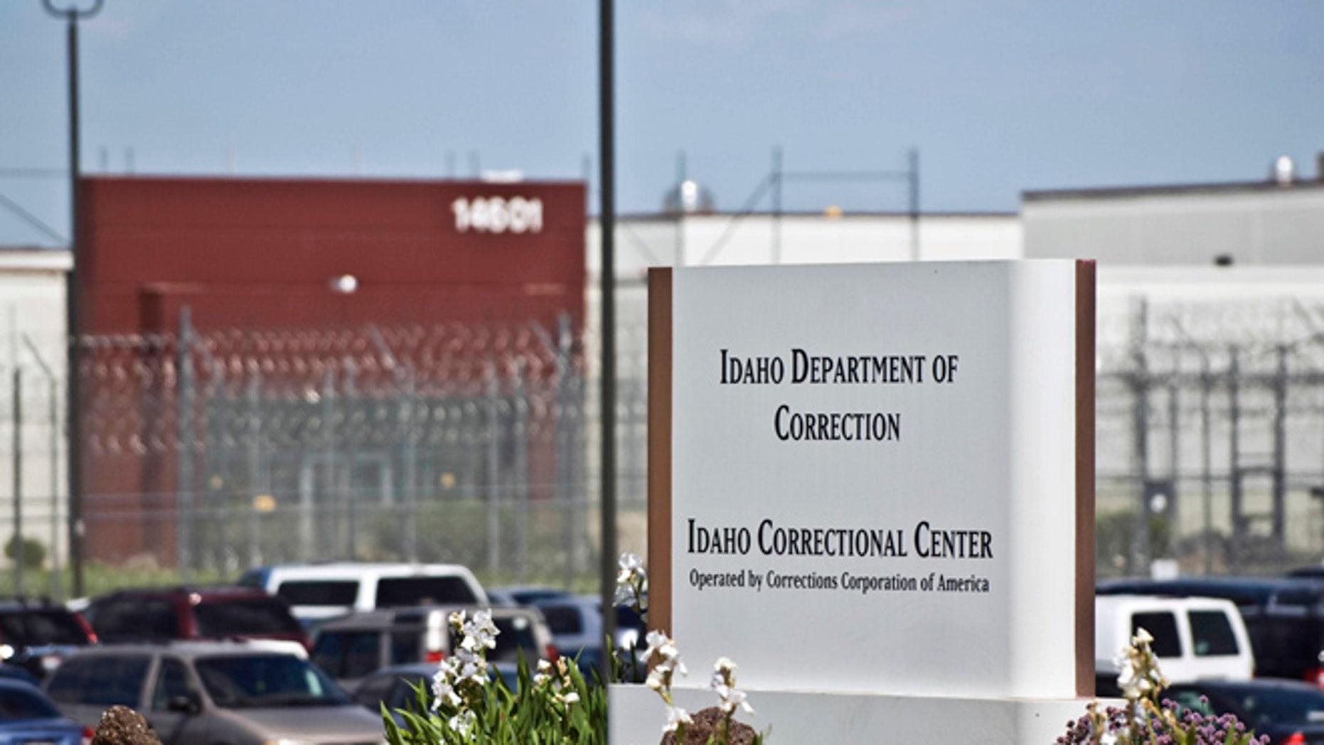 FILE -- The Idaho Correctional Center, south of Boise, Idaho.