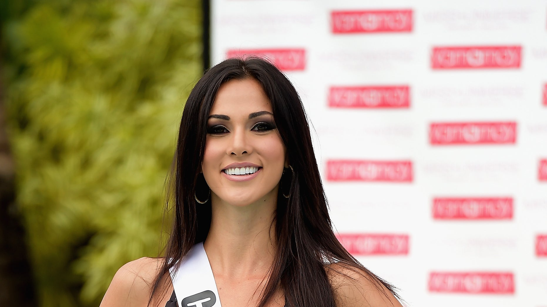 DORAL, FL - JANUARY 14:  Miss Costa Rica  Karina Ramos  participates in Miss Universe - Yamamay Swimsuit Runway Show at Trump National Doral on January 14, 2015 in Doral, Florida.  (Photo by Gustavo Caballero/Getty Images)
