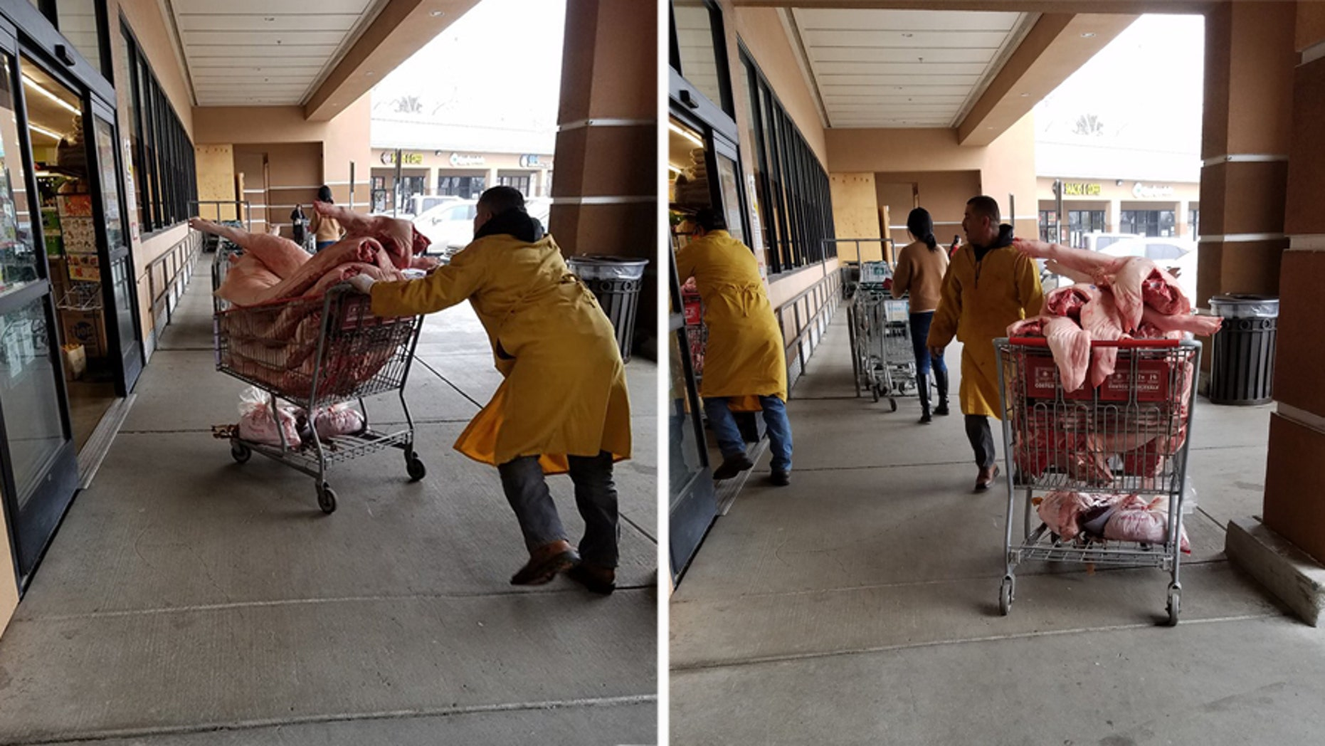 Loretta Seto snapped the photos while picking up a few barbecue supplies at 99 Ranch Market.
