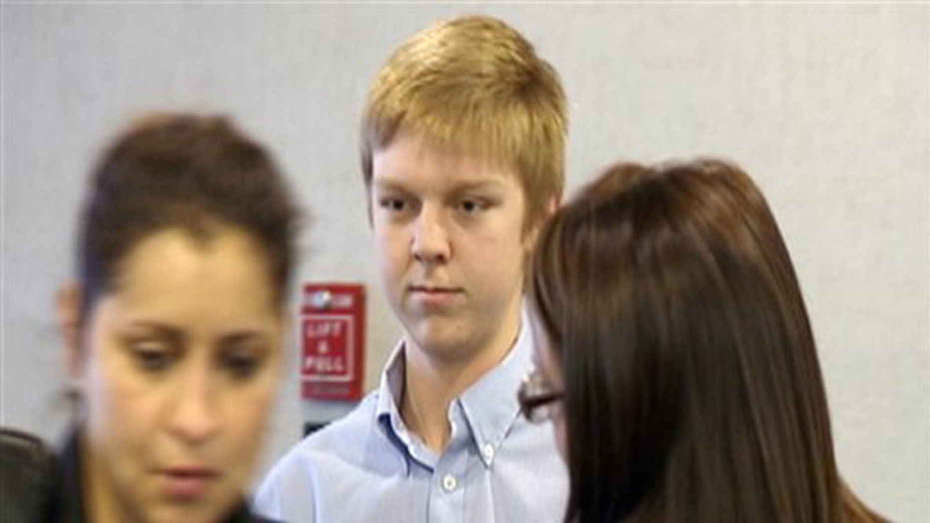 Ethan Couch is seen during his court hearing in a December 2013 image taken from video.