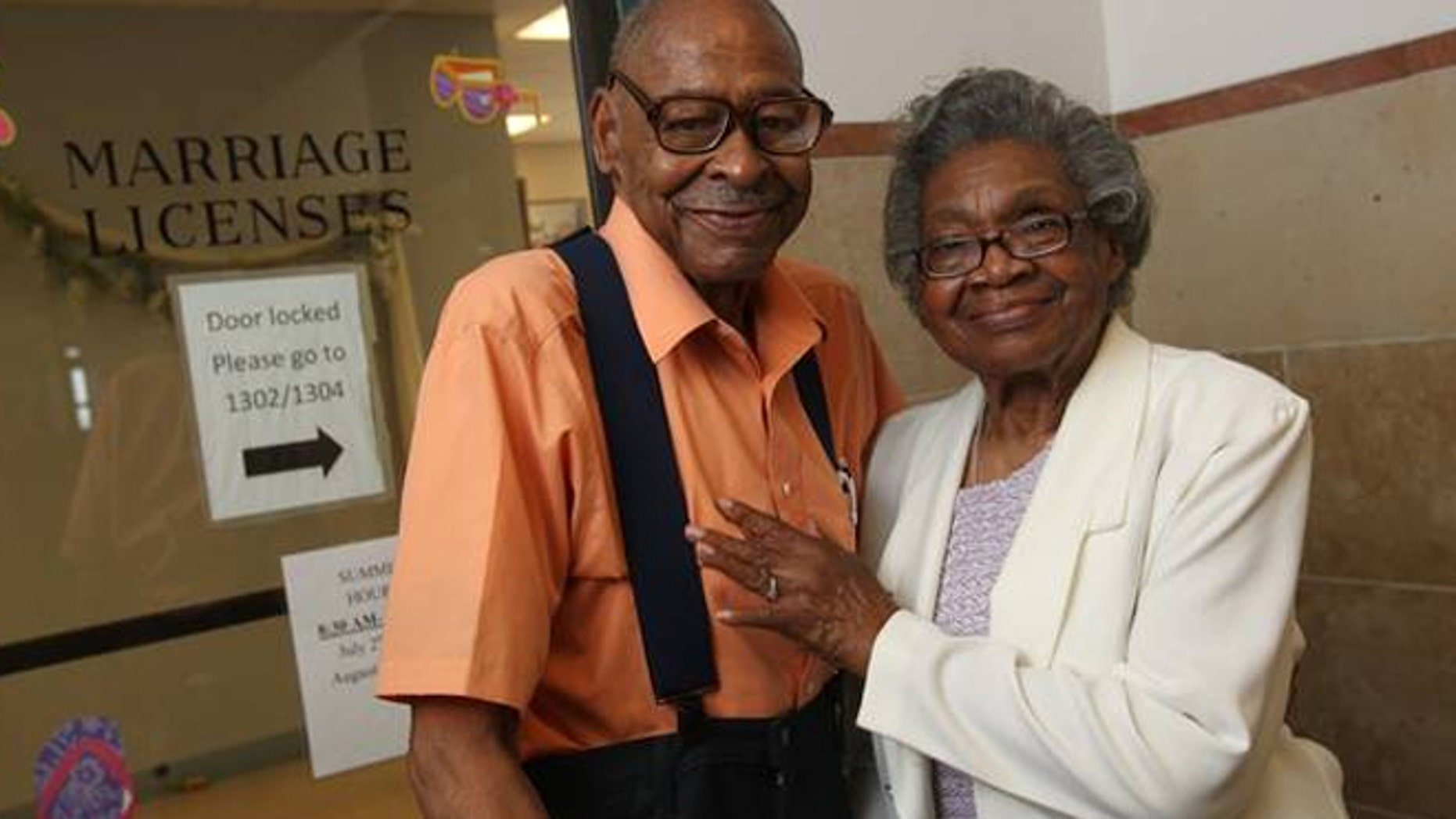 After nearly 50 years separated, Roland Davis and Lena Henderson are remarrying Saturday.