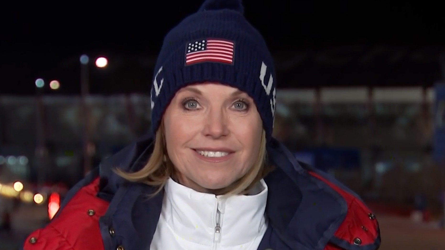 "Katie Couric is sorry for attributing Dutch athletes' skating success to a Dutch predilection for skating as a ""mode of transportation."""