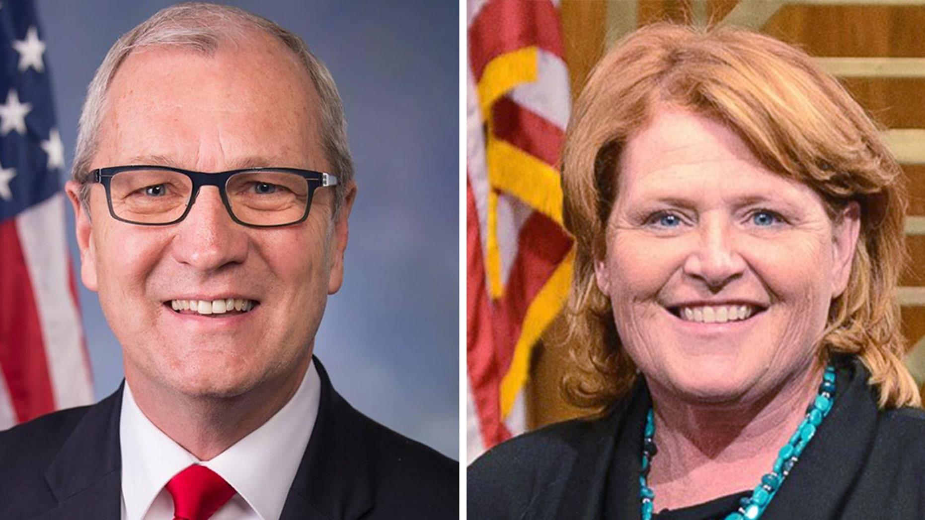 Rep. Kevin Cramer, R-N.D., slammed his opponent, incumbent Democrat Sen. Heidi Heitkamp, for her stance on late-term abortions.