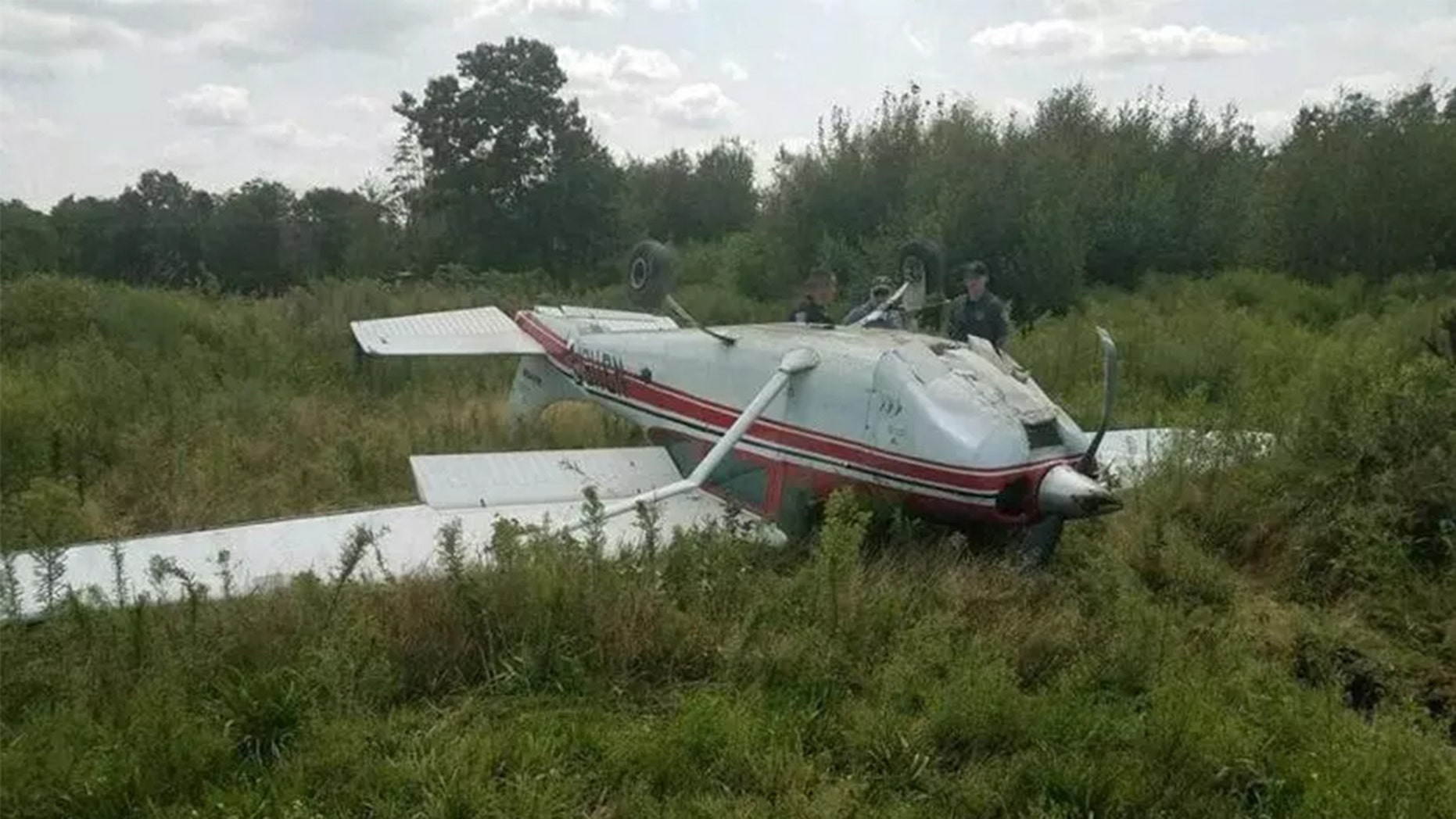 """The flipping [of the plane] was me running out of runway. I was coming in too fast due to difficulties with my engine, the flaps, and various plane issues."""