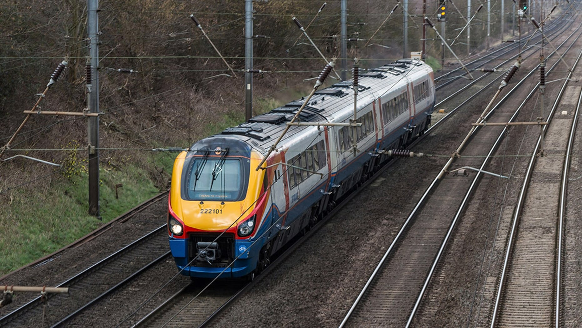 The train was eventually directed to Sheffield where the service was terminated, and passengers then had to catch a different train.