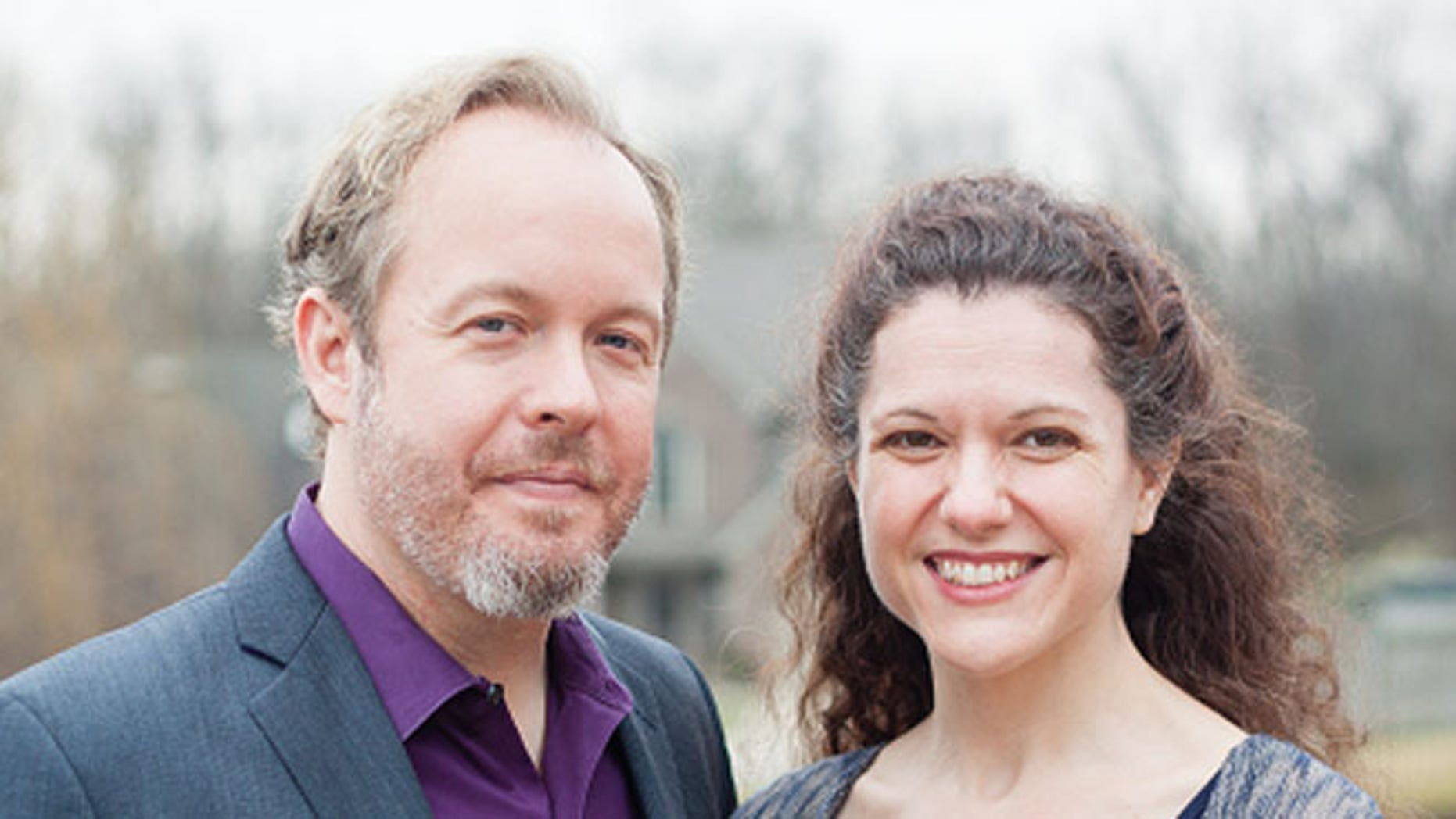 2014: Drew and Heather Curtis, candidates for Kentucky governor and lieutenant governor.