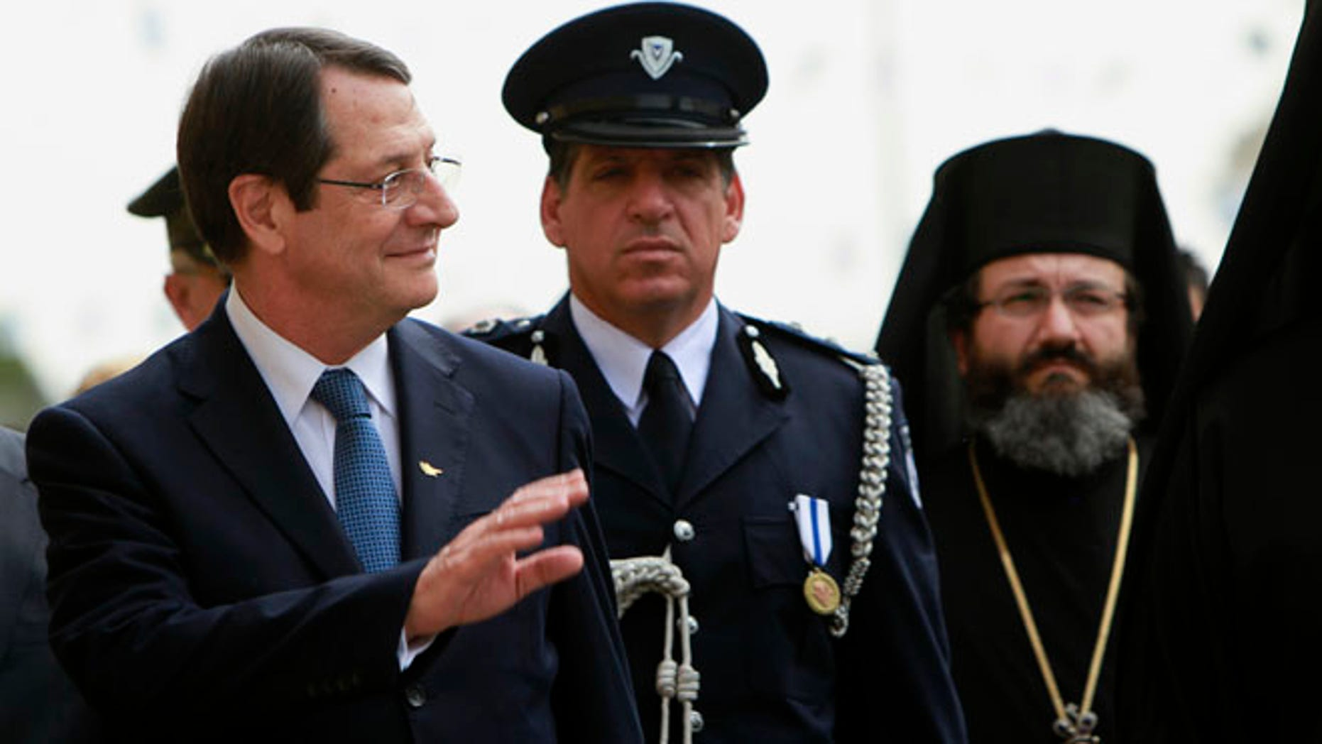 President Nicos Anastasiades pledged to investigate his own family after media allegations that a company partly owned by an in-law had yanked millions of euros out of the country days before the crisis began.