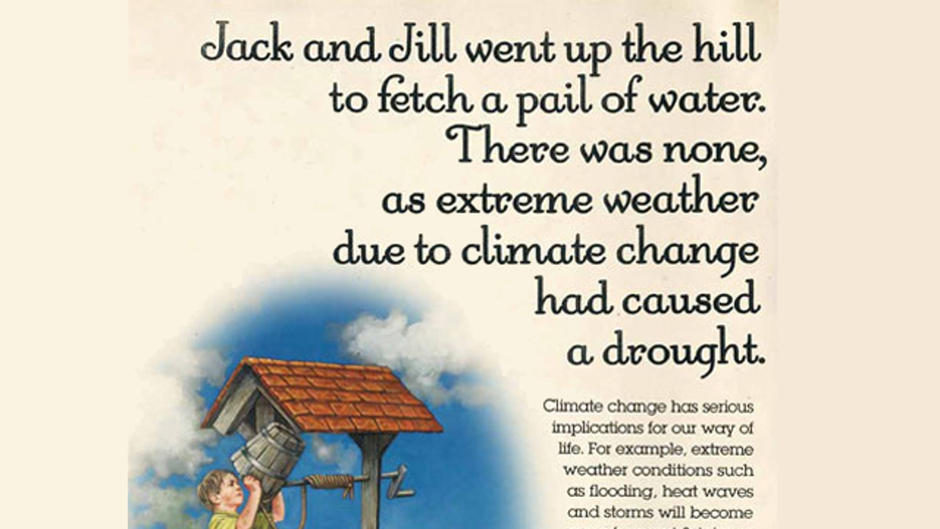 An advertisment from the U.K.'s the Department for Energy and Climate Change was banned by the Advertising Standards Authority.