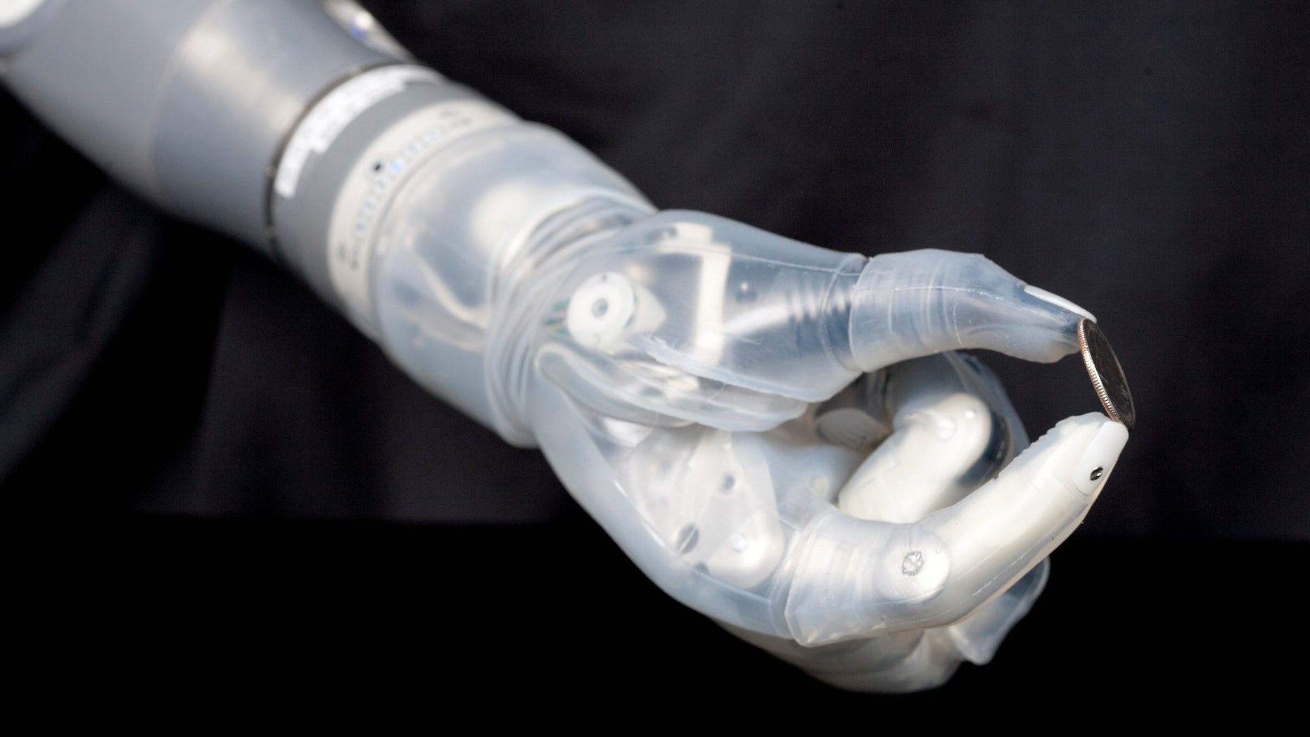 "The U.S. Food and Drug Administration has approved a new robotic arm for amputees. Named for the ""Star Wars"" character Luke Skywalker, it can perform multiple, simultaneous movements, an advance over the metal hook currently in use. (REUTERS/DARPA/Handout via Reuters)"