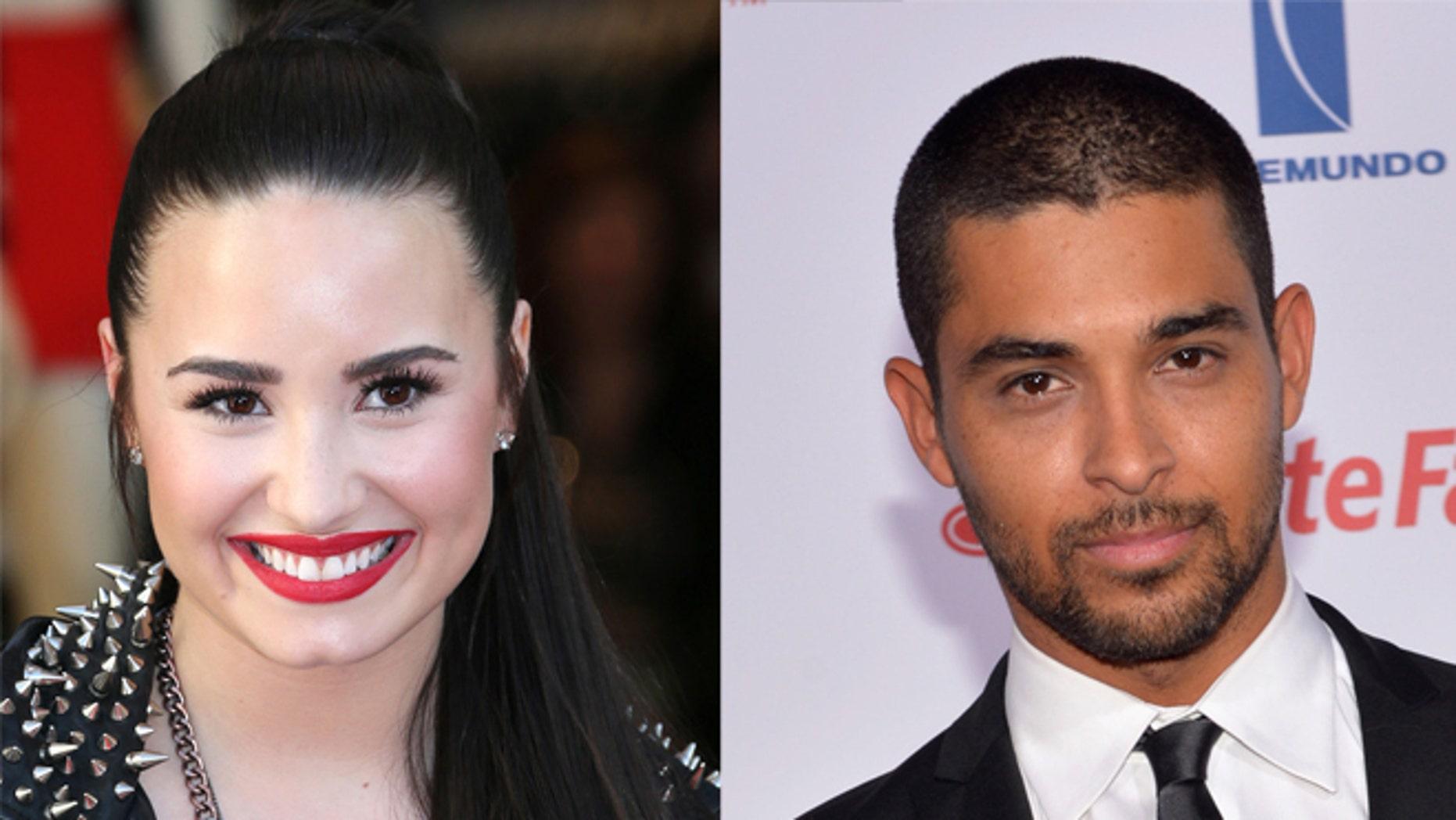 Wilmer Valderrama dating Demi Lovato 2013 dejtingsajter för homosexuella killar