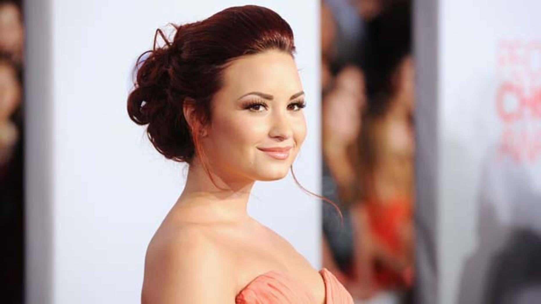 Jan. 11, 2012: Demi Lovato arrives at the 2012 People's Choice Awards held at Nokia Theatre in Los Angeles, Calif.