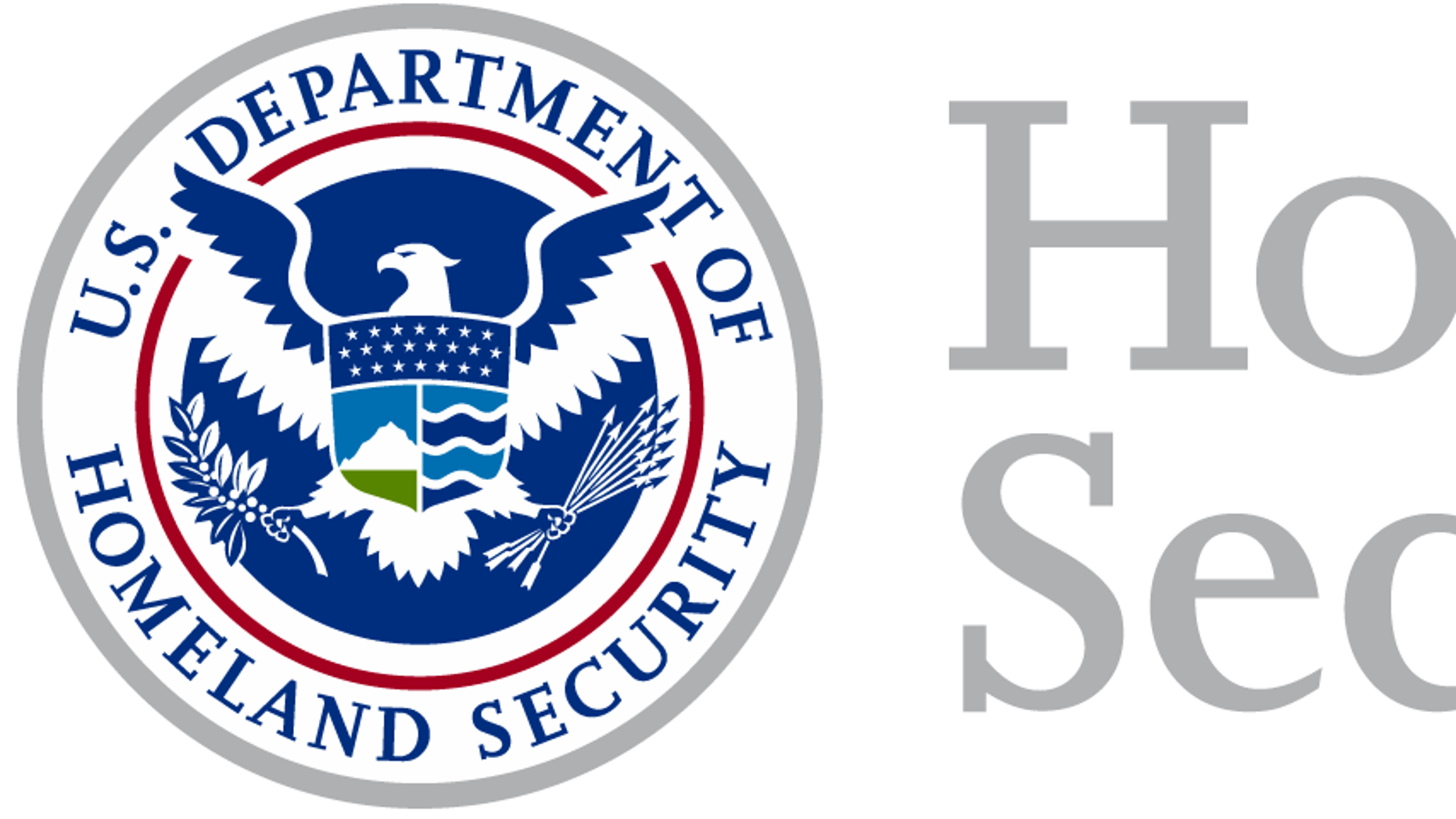 Department of Homeland Security logo.