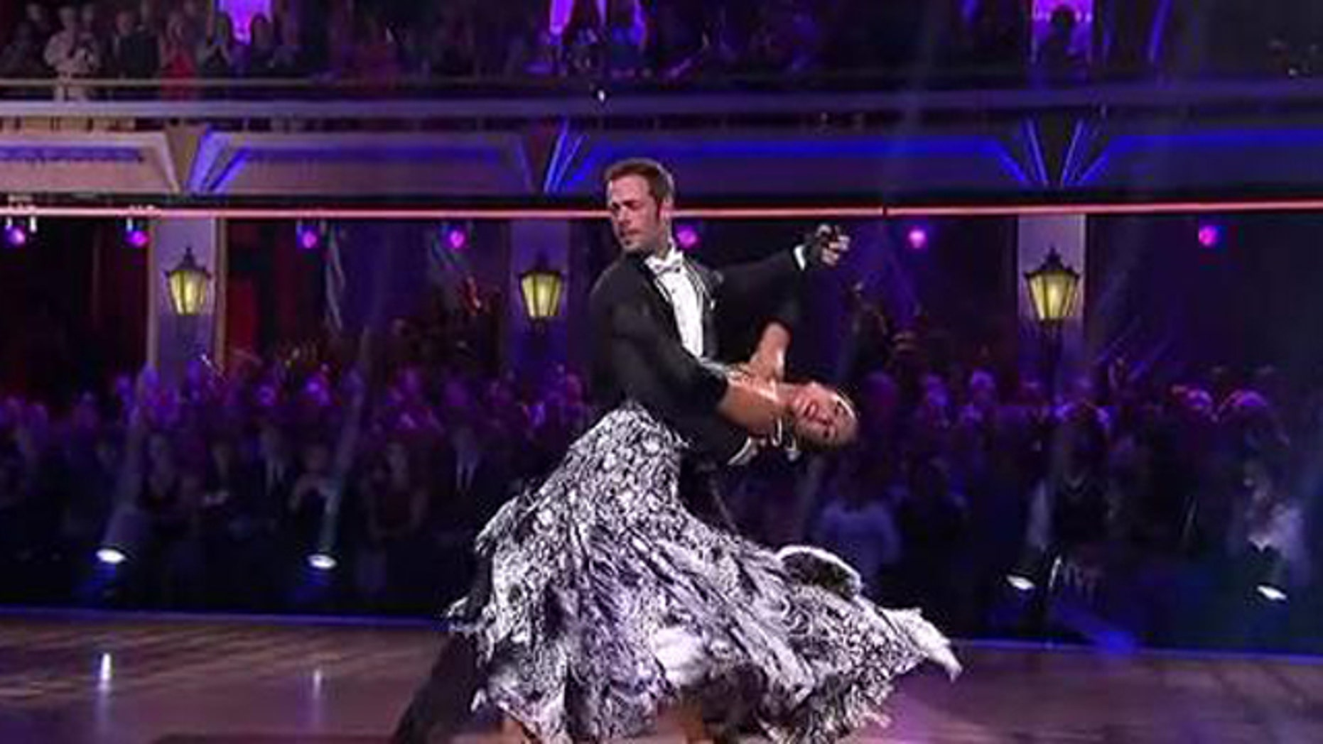 May 8, 2012: Cuban actor William Levy nails a perfect Foxtrot Monday night on Dancing With the Stars.