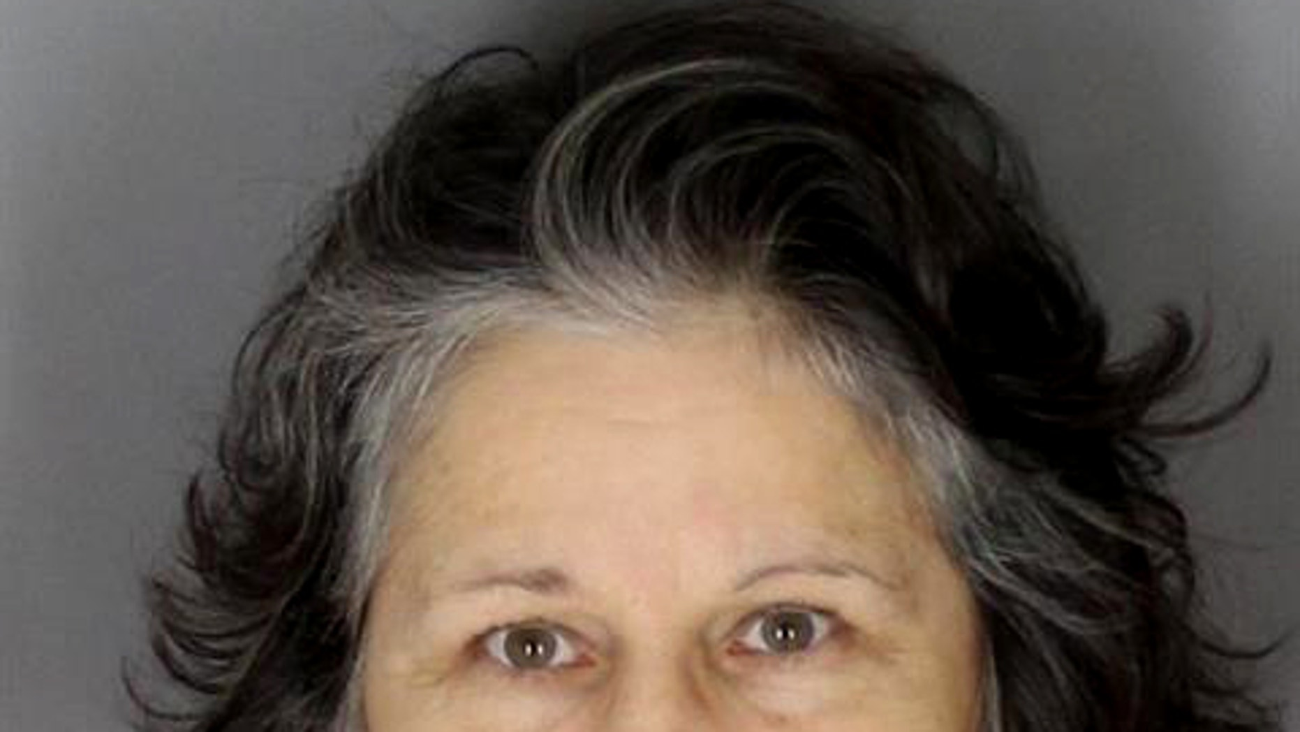 This undated booking photo provided by the the Oakland County Sheriffs Office shows Sylvia Majewska. Majewska is charged with first-degree murder in the Nov. 23, 2014, killings at her home in Oakland County's Addison Township, 45 miles north of Detroit. A judge in Rochester Hills put proceedings on hold Thursday, Feb. 12, 2015, after a psychiatrist said Majewska is incompetent to stand trial. (AP Photo/Oakland County Sheriffs Office via Detroit Free Press)