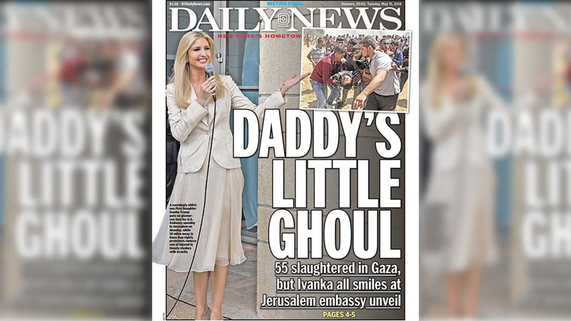 Critics feel the tabloid went too far with its latest anti-Trump cover attacking First Daughter Ivanka Trump.