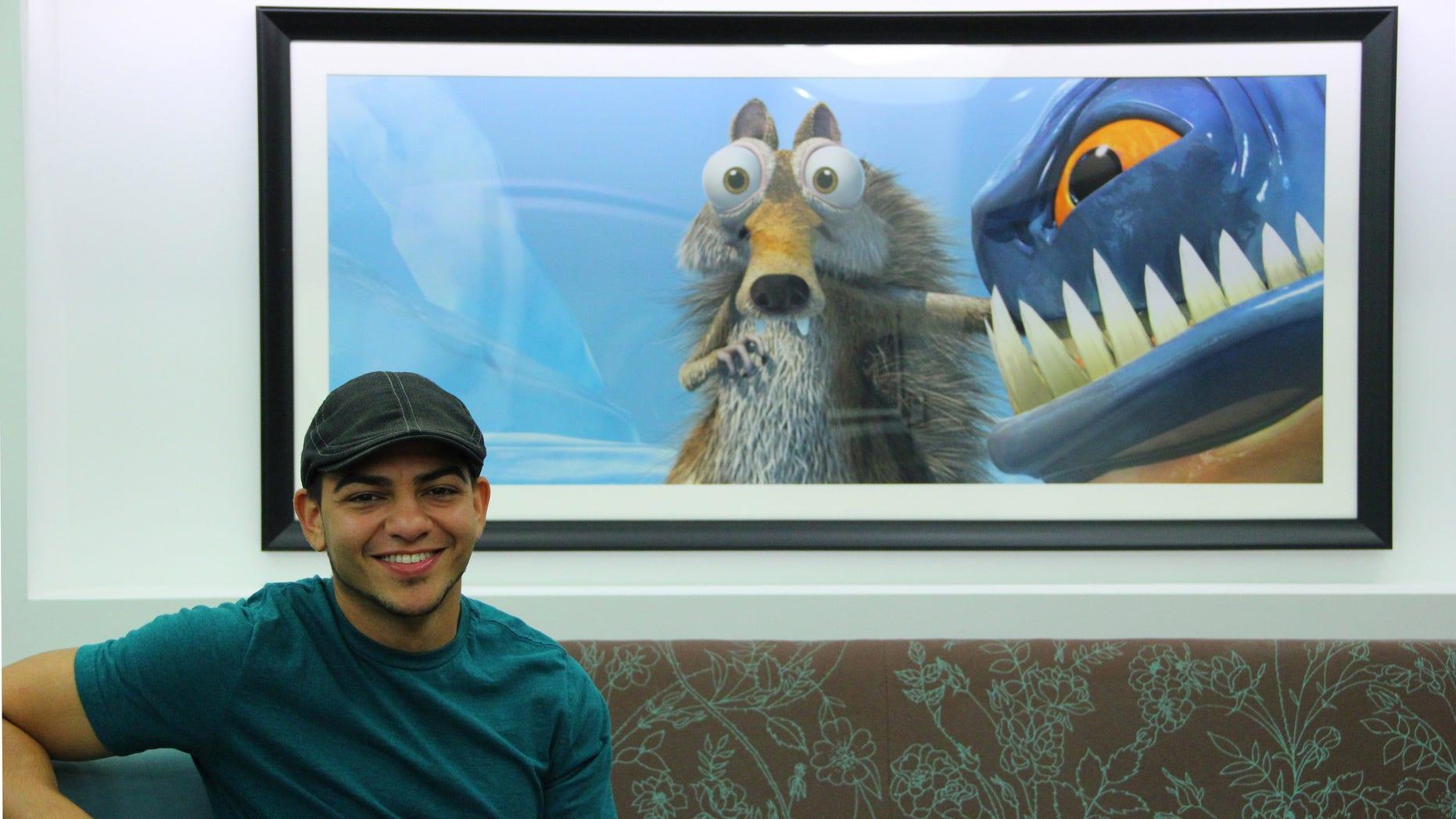 """""""Ice Age 4"""" animator Dan Segarra."""