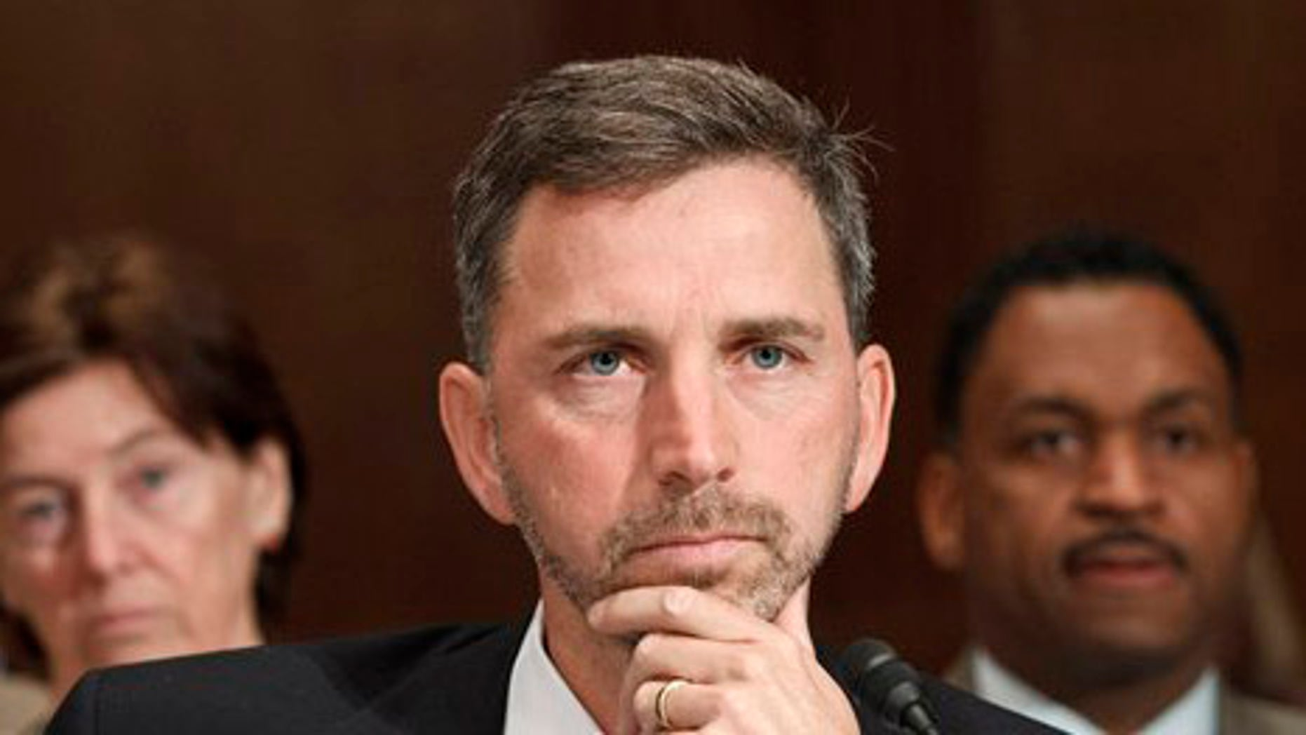April 18: Acting GSA Administrator Dan Tangherlini, testifies during a Capitol Hill hearing on the alleged misuse of taxpayer money by General Services Administration officials.
