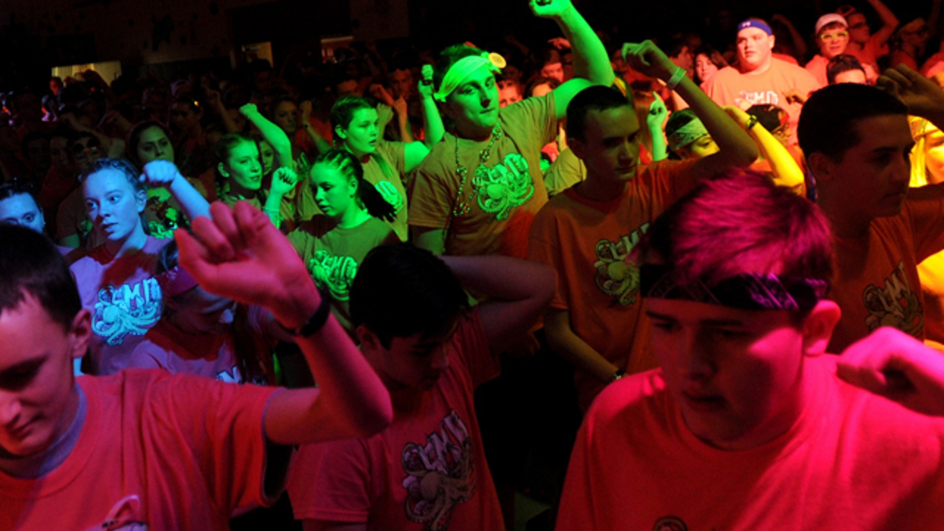 March 1, 2013: South Glens Falls, N.Y. students participate in the 36th annual South High Marathon Dance.