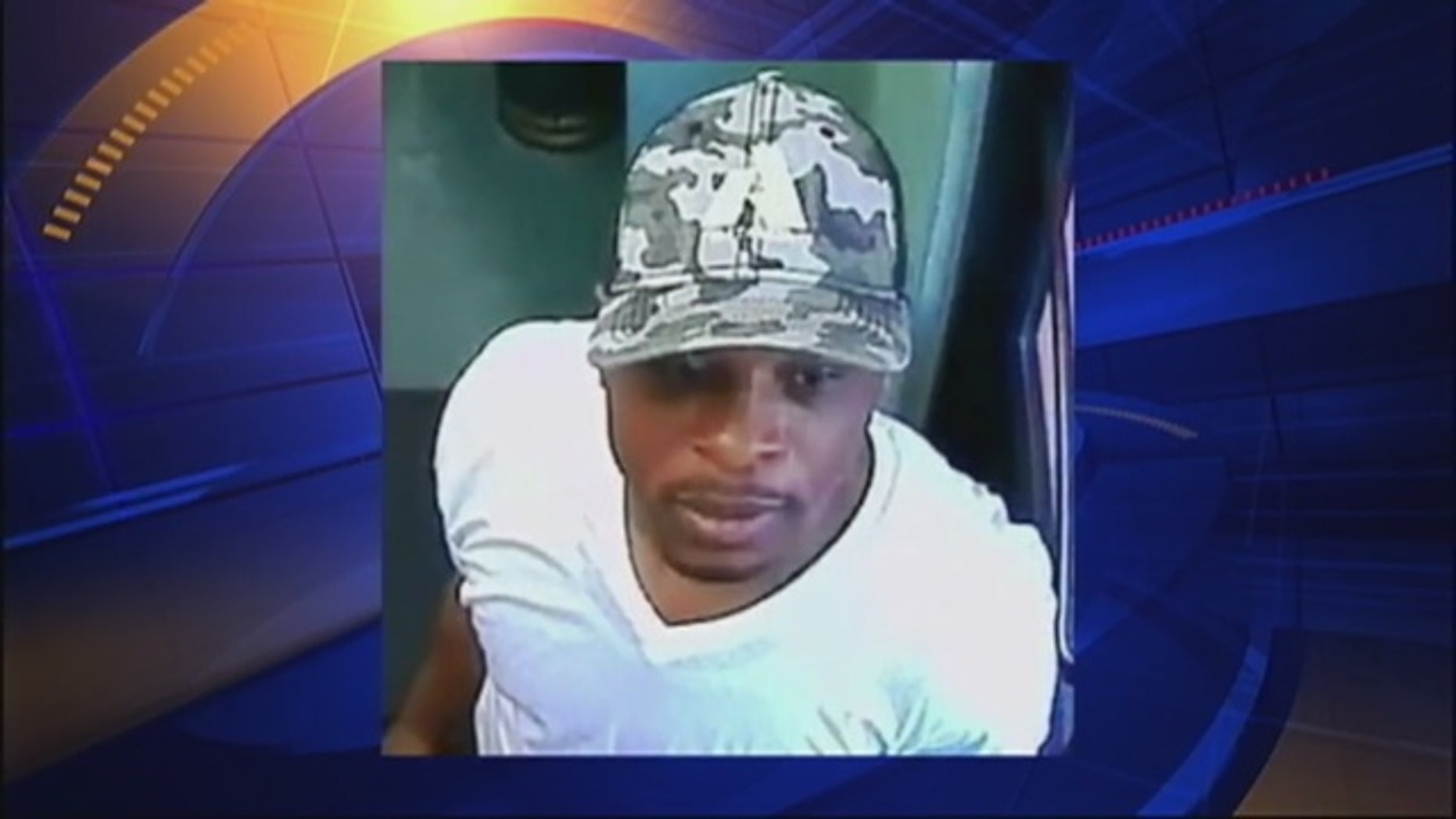 Joseph Danclair, 36, of Brooklyn, N.Y., is seen on surveillance video released by the New York City Police Department.