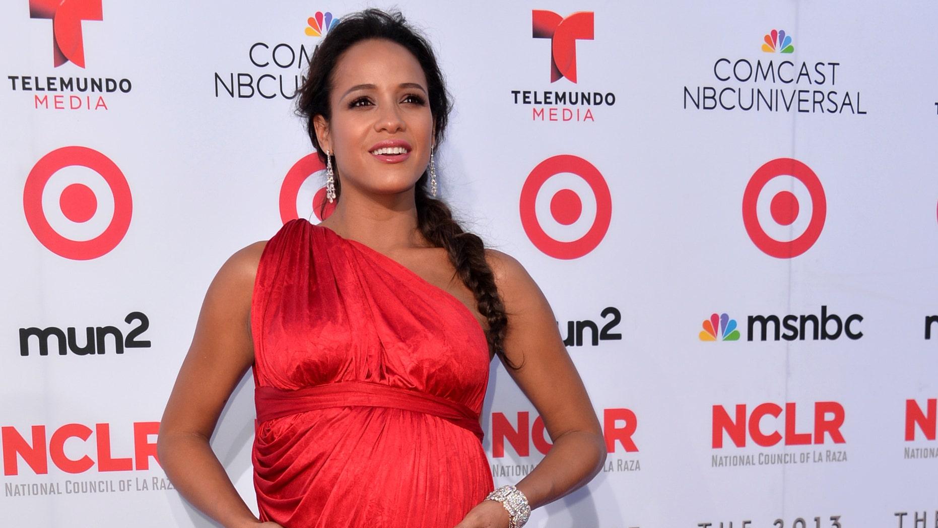Dania Ramirez at the 2013 NCLR ALMA Awards on September 27, 2013 in Pasadena, California.