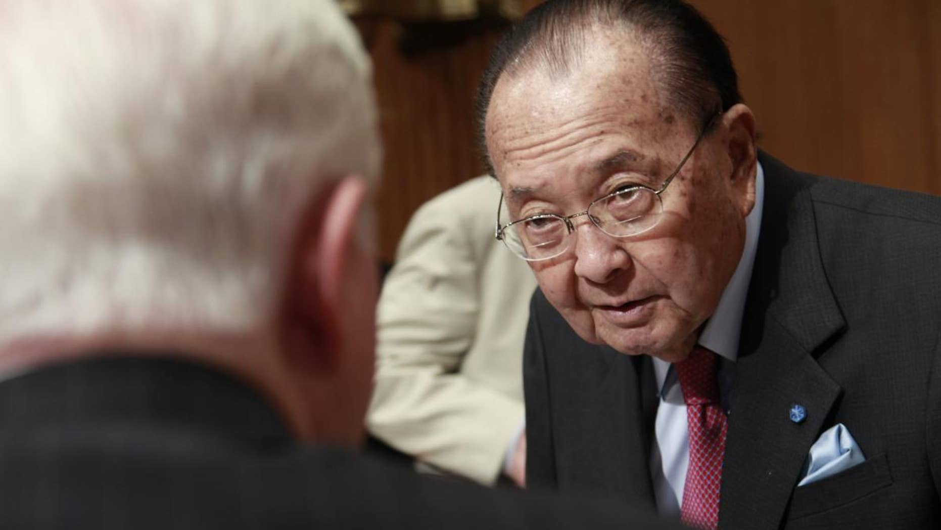 Senate Appropriations Committee Chairman Sen. Daniel Inouye, D-Hawaii (AP File Photo/Pablo Martinez Monsivais)