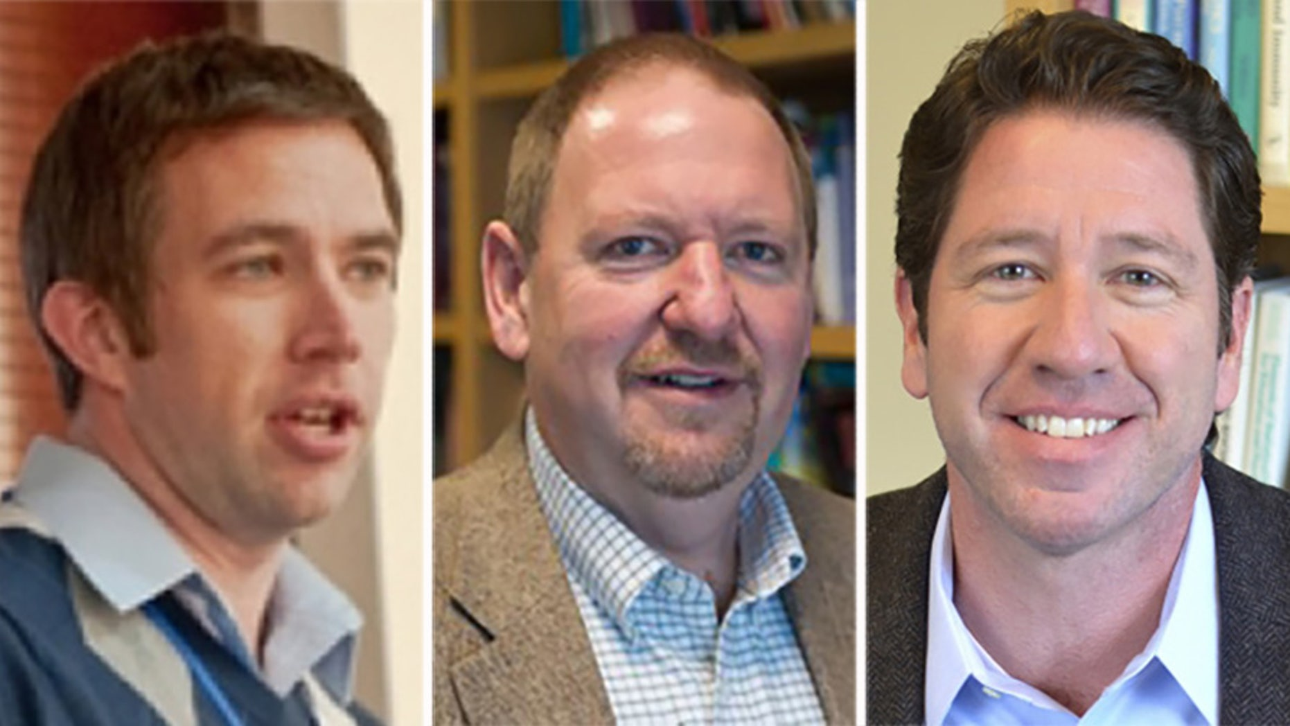 L-R: Bill Kelley, Todd Heartherton and Paul Whallen
