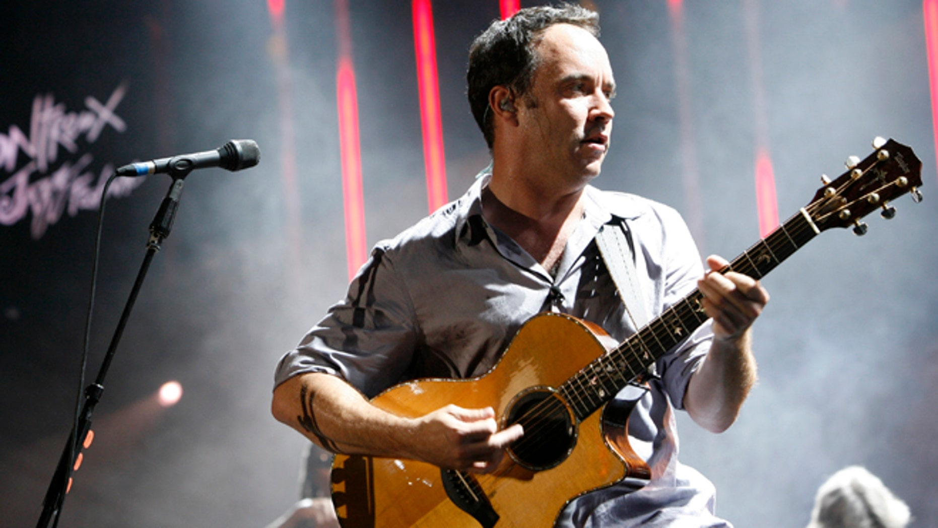 Dave Matthews of the Dave Matthews Band performs during the 43rd Montreux Jazz Festival July 4, 2009.